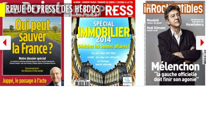 Le remaniement, c'est fait: prochaine étape, la dissolution? ; Juppé candidat à la primaire de l'UMP: la (grôsse) pierre dans le jardin de Nicolas