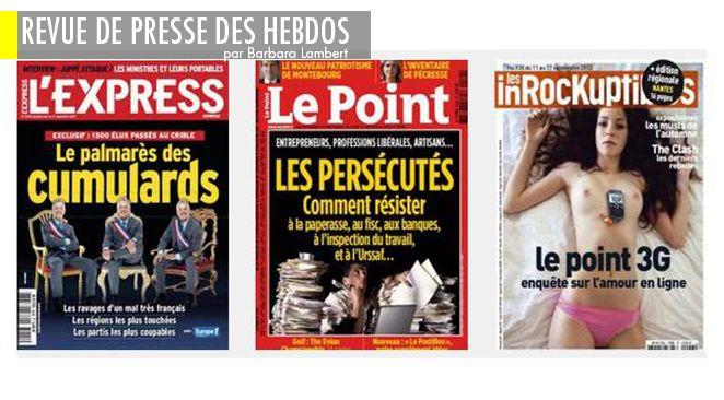 Syrie : et si Hollande n'était pas si à l'Ouest?, cumul des mandats: et le champion est..., rentrée littéraire: une ministre est cachée dans un roman. Saurez-vous la retrouver?