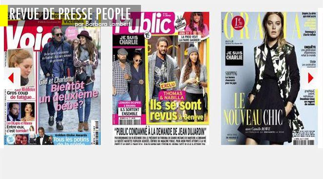 George et Amal Clooney : l'échographie, Jeannette Bougrab usurpatrice ?, Carla Bruni-Sarkozy : qu'y avait-il derrière son grand col ?