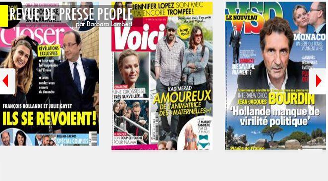 François et Julie : en fait, c'est pas du tout fini, Charlène de Monaco : FIV ou pas FIV ?, Letizia d'Espagne : en paix avec ses vieux démons ?
