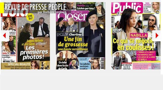 François et Julie photographiés à l'Elysée : mais par qui ? ; Valérie Trierweiler colère ; Kim Kardashian : comment elle peint la célébrité avec ses fesses
