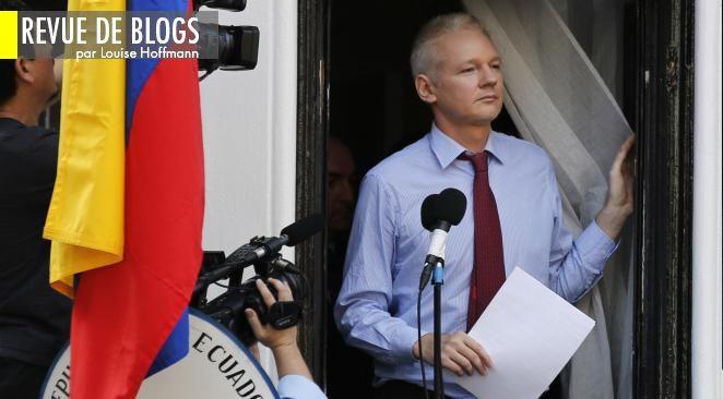 Julian Assange se tient reclus depuis deux mois dans l'ambassade d'Equateur à Londres.