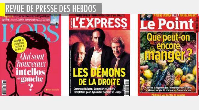 """A droite, Buisson, Zemmour et Villiers, unis pour """"dynamiter l'offre politique"""" ; où sont les intellos de gauche ? Philippe Val et Denis Robert se disputent la mémoire de """"Charlie Hebdo"""""""