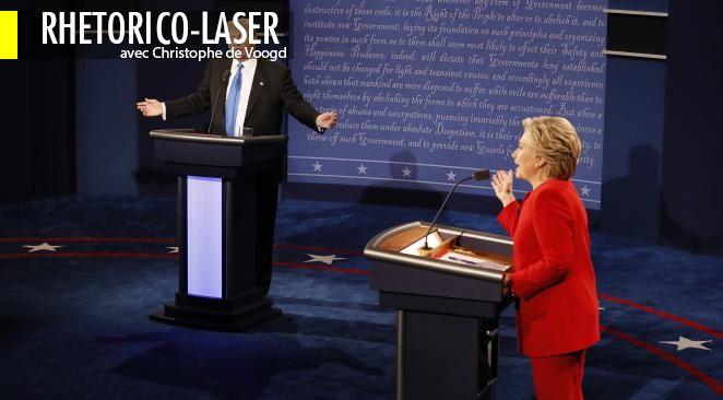 Le premier débat télévisuel entre le candidat républicain et la candidate démocrate a donné quelques indications sur la chose politique aujourd'hui.