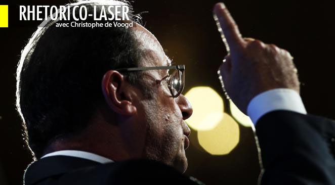 Des mots, des mots, des mots... Quand François Hollande part à la reconquête de l'Elysée avec une obsession rhétorique qui pourrait vite se retourner contre lui
