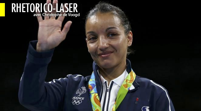 """La palme du fair play revient sans doute à la boxeuse Sarah Ourahmoune qui, après un combat final incertain jusqu'au bout, a déclaré que """"la décision du jury était juste"""", invitant tout simplement à partager le bonheur d'une magnifique médaille d'argent."""