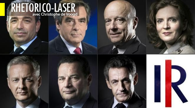 Le  quatuor des candidats jugés les plus convaincants par les Français ressemble à s'y méprendre au quatuor en tête des derniers sondages : 1/Juppé 2/ Sarkozy /3 Fillon 4/ BLM.
