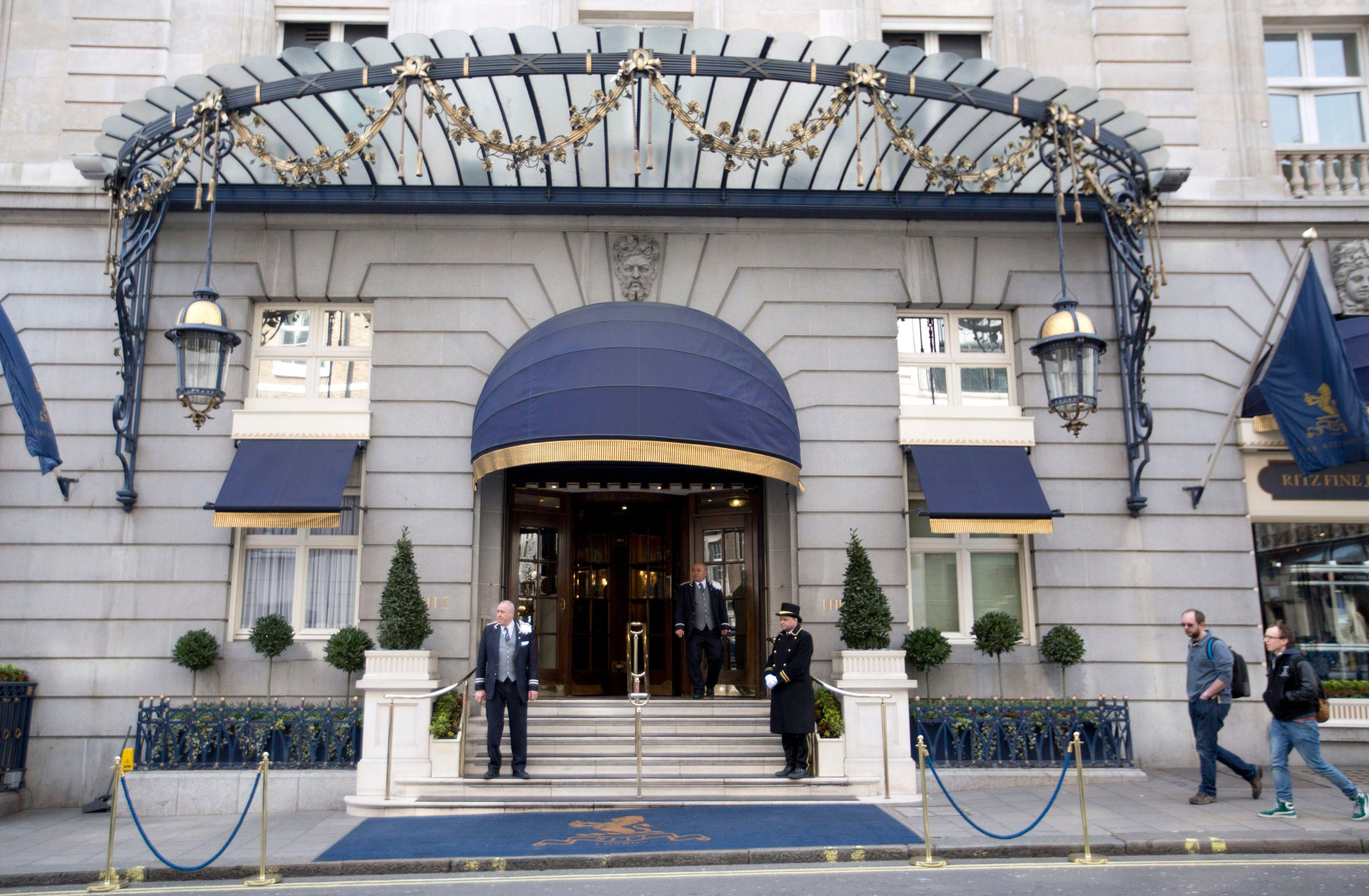 Un palace hotel du Ritz.