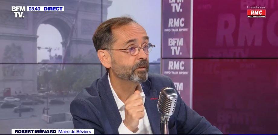 Le maire de Béziers, Robert Ménard, était l'invité ce jeudi 1er juillet de Jean-Jacques Bourdin sur BFMTV et RMC.