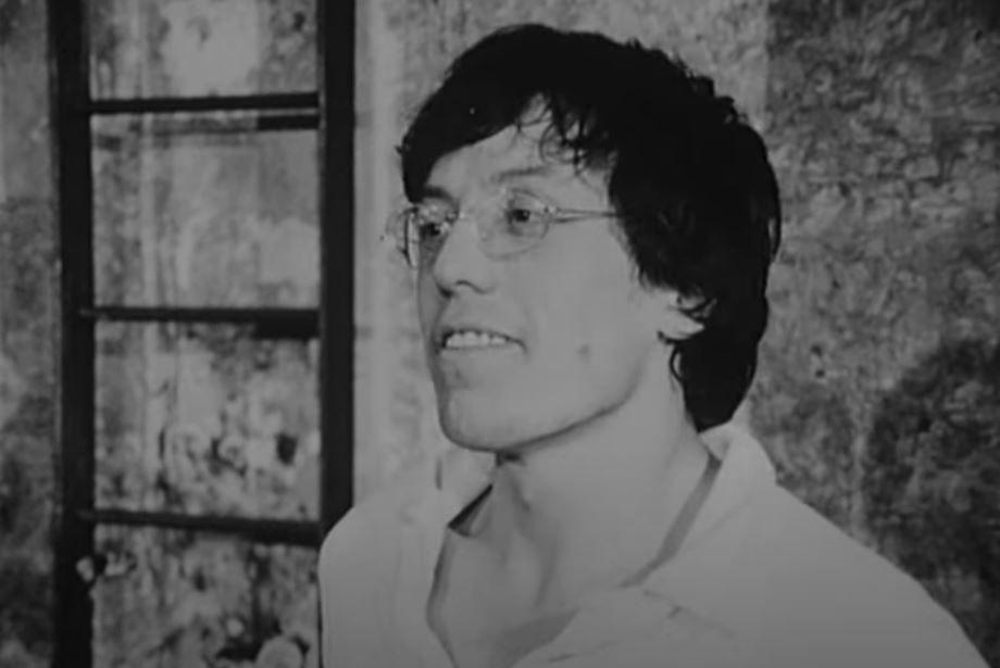 Romain Bouteille lors d'un entretien à l'ORTF en janvier 1970.
