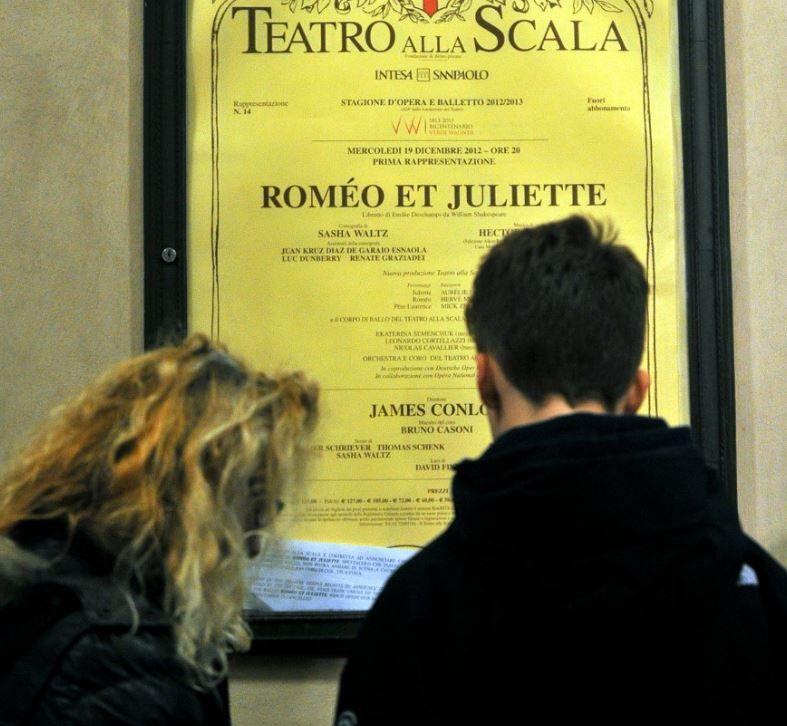 Roméo et Juliette Scala Milan