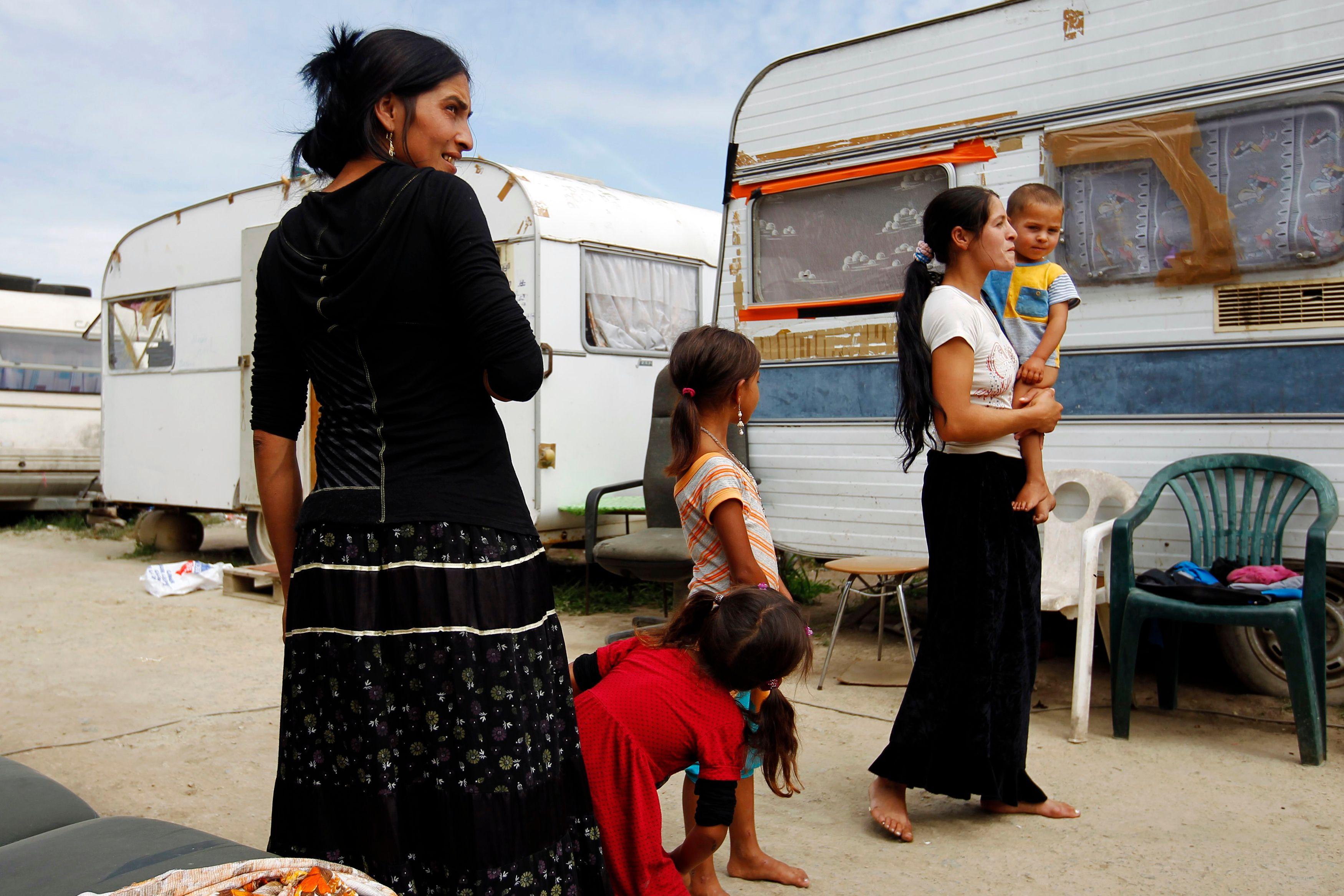 8 Français sur 10 approuvent le démantèlement des camps illégaux de Roms.