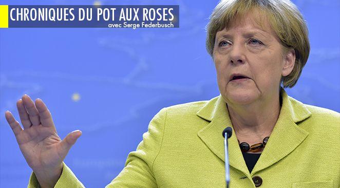 Les Français font plus confiance à Angela Merkel qu'à François Hollande.