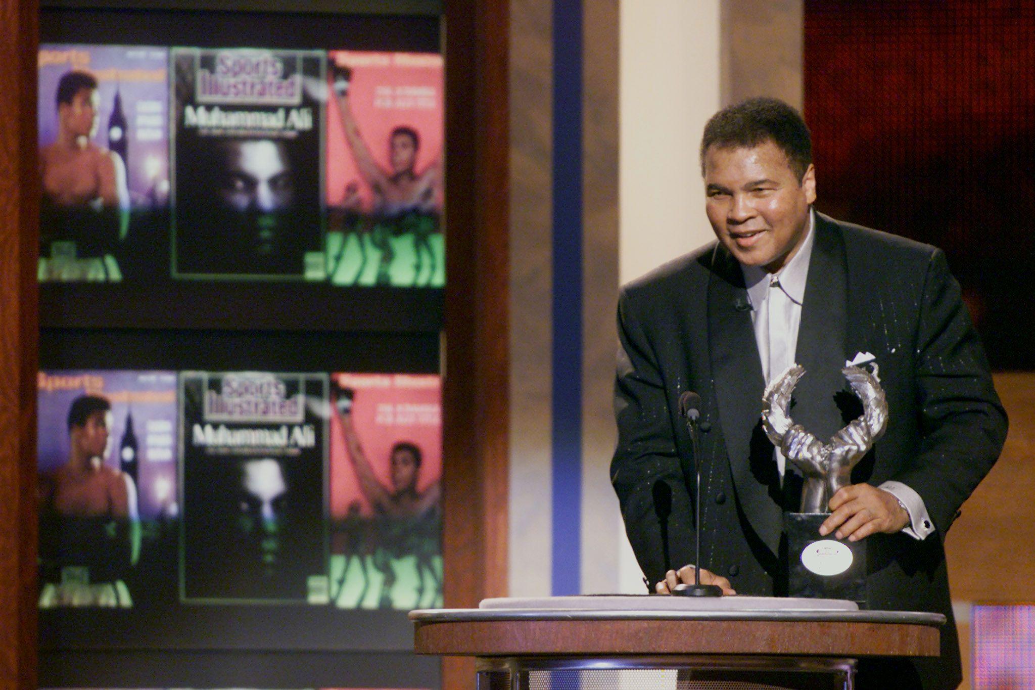 Mohamed Ali, légende de la boxe