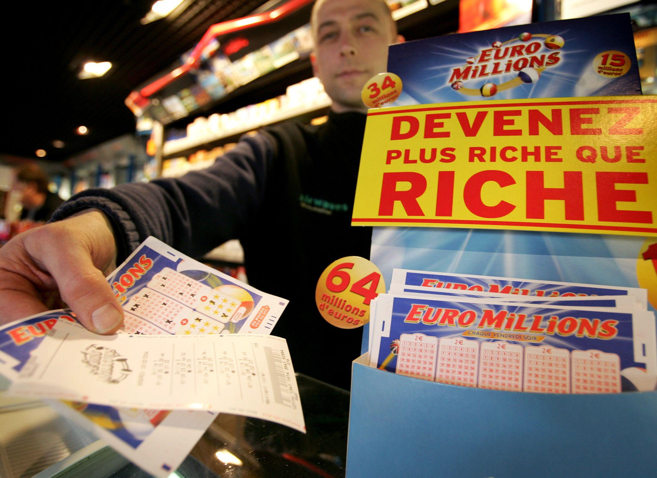 EuroMillions : un Britannique remporte plus de 89 millions d'euros