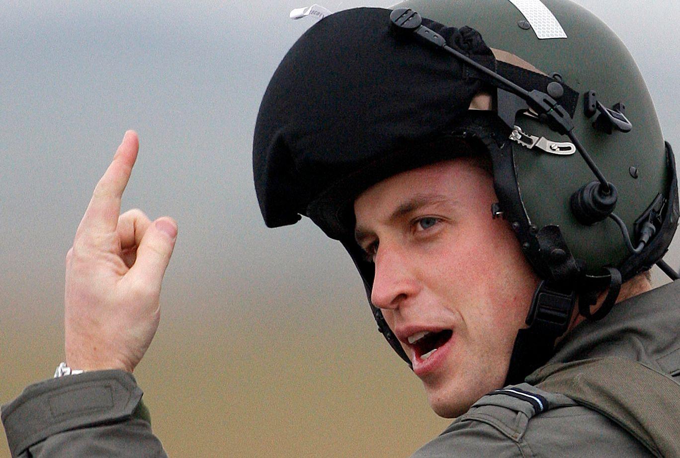 Le duc de Cambridge a passé sept ans et demi dans les rangs de l'armée.