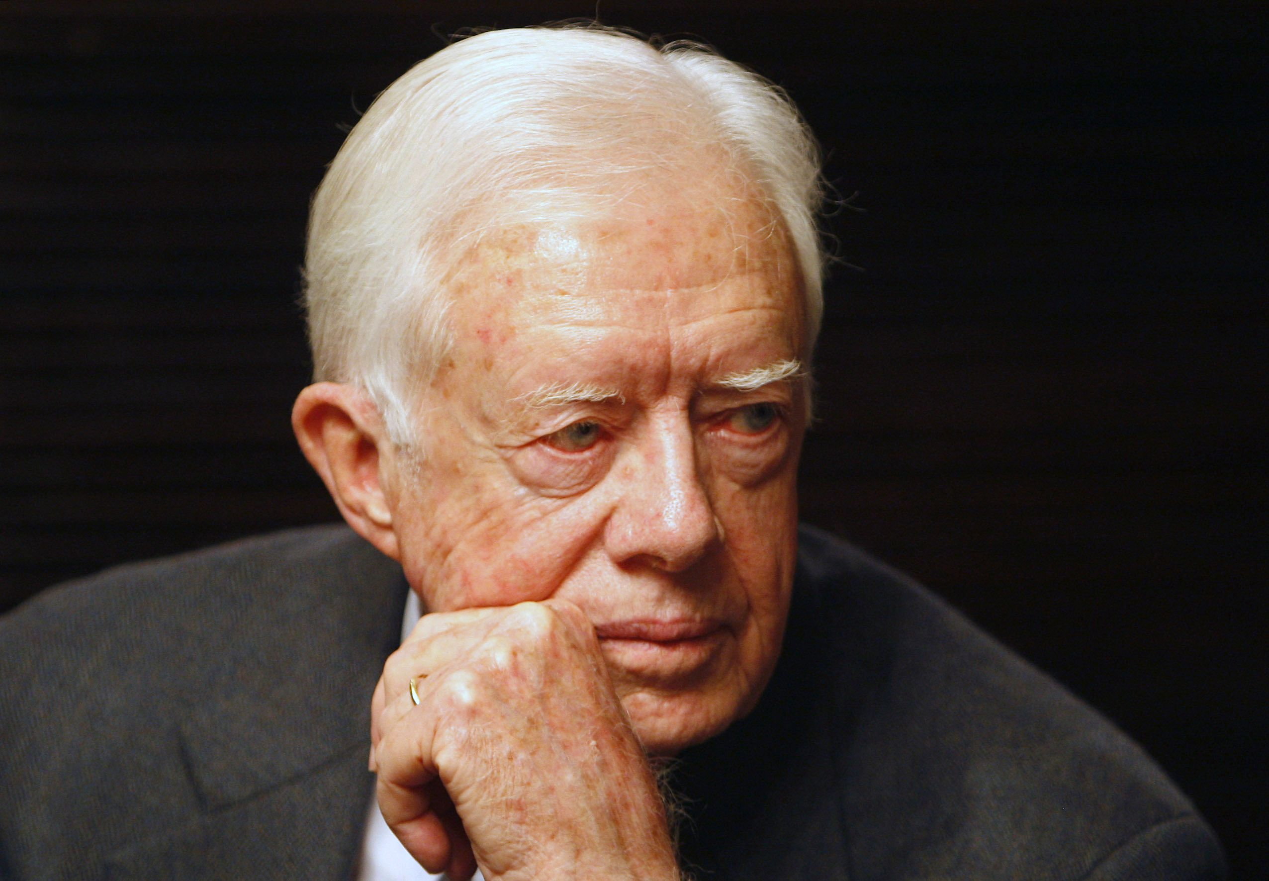 Etats-Unis : Jimmy Carter hospitalisé après plusieurs chutes