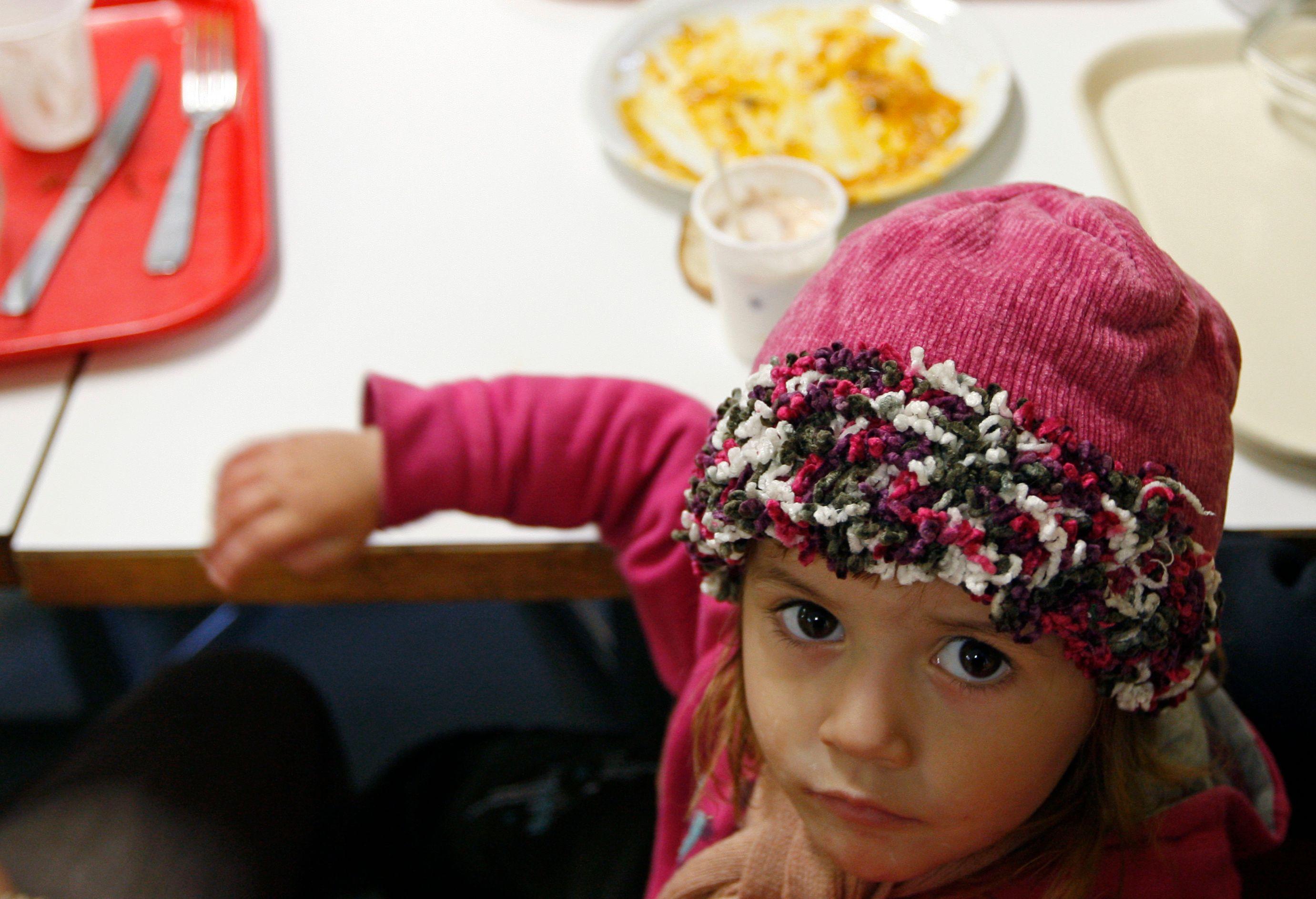 """88% des enfants sondés estiment qu'il y a """"beaucoup"""" de pauvreté dans le monde."""