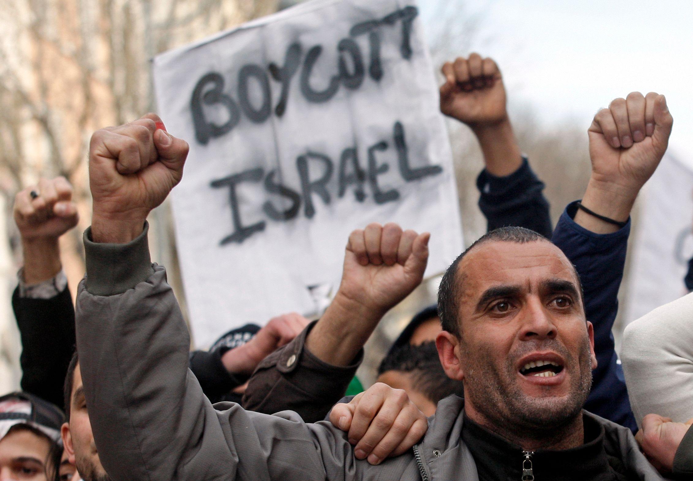Les appels au boycott d'Israël se multiplient à travers le monde