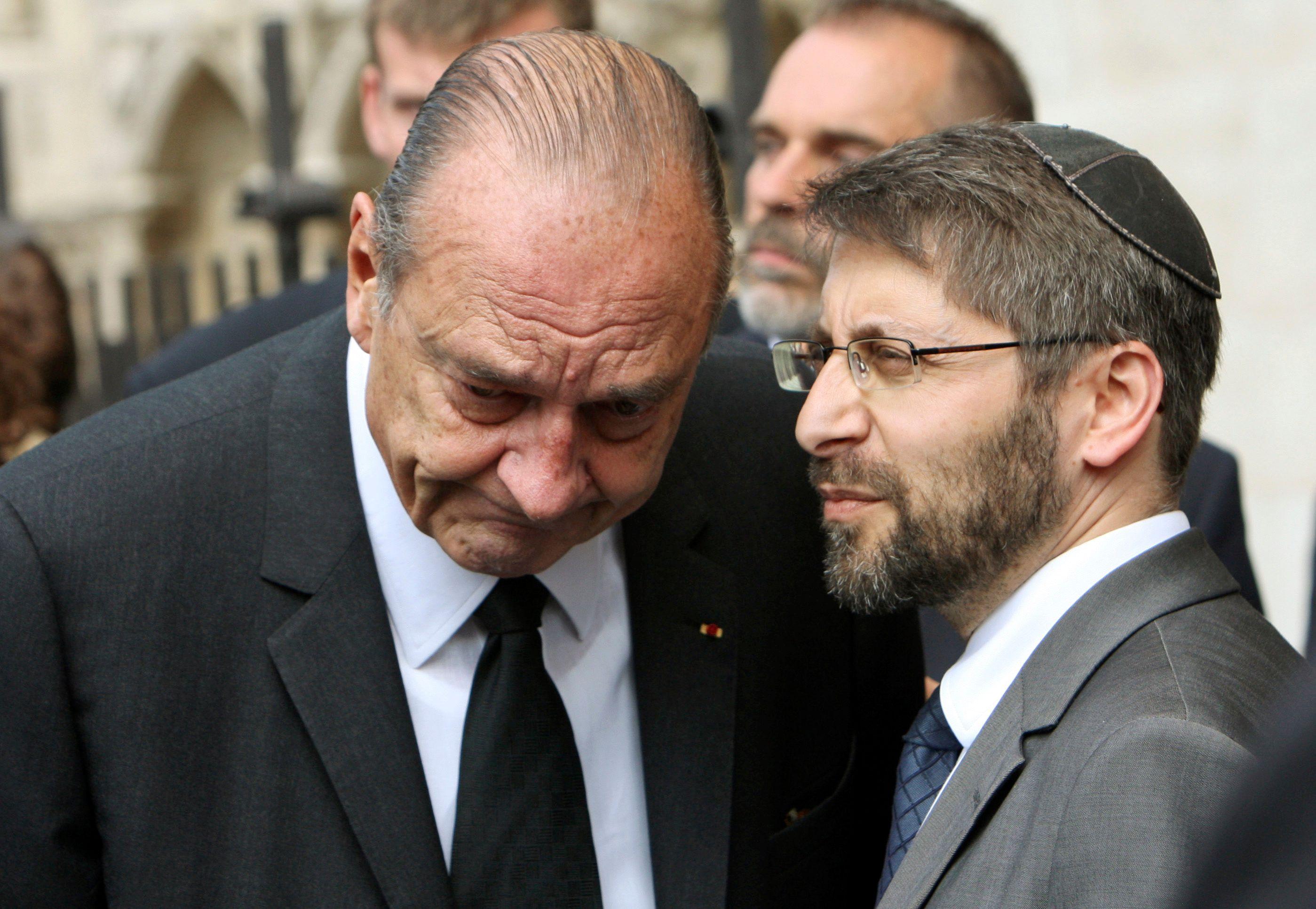 Haïm Korsia, 51 ans, a été élu pour sept ans.