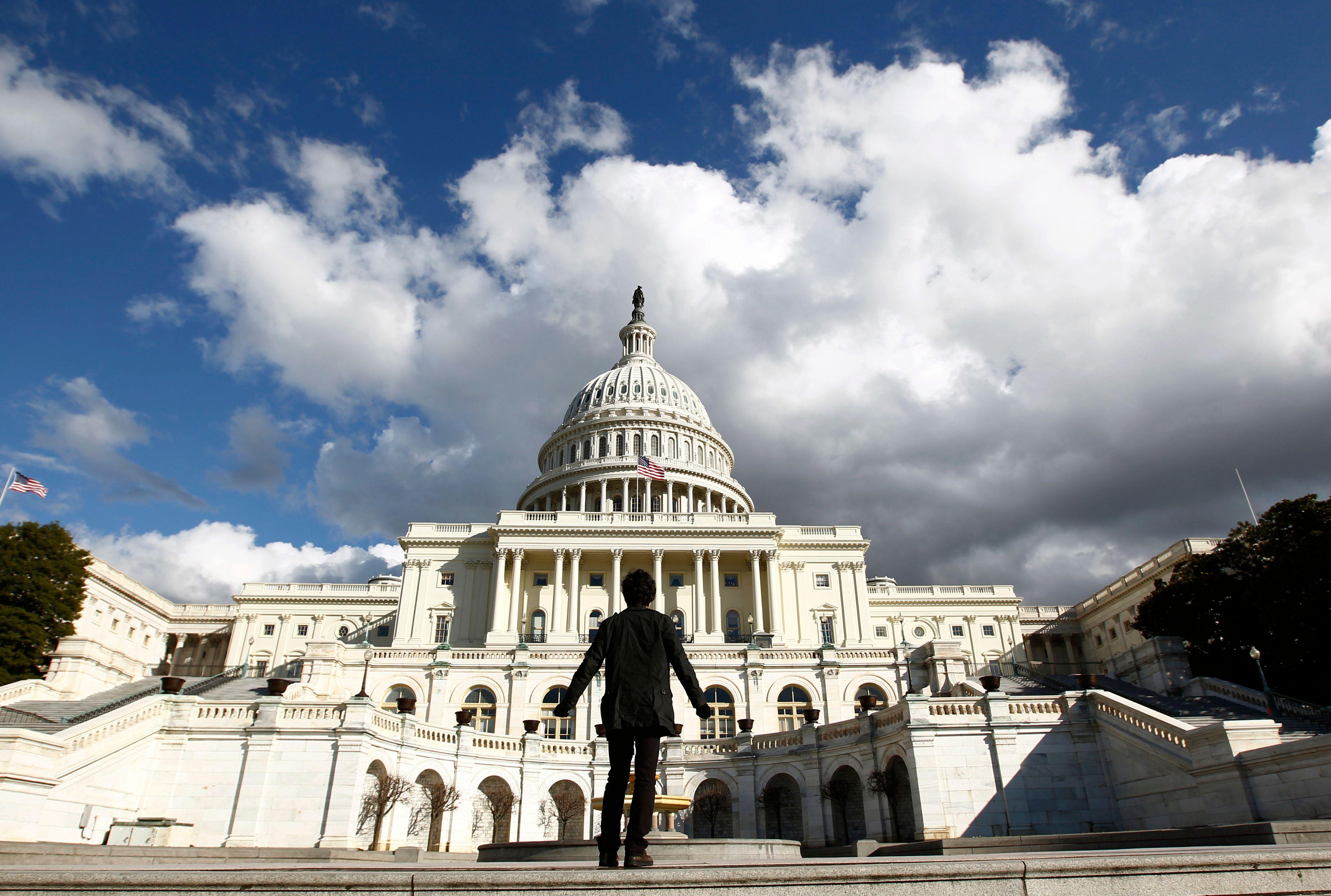 Le Capitole à Washington, capitale des Etats-Unis.