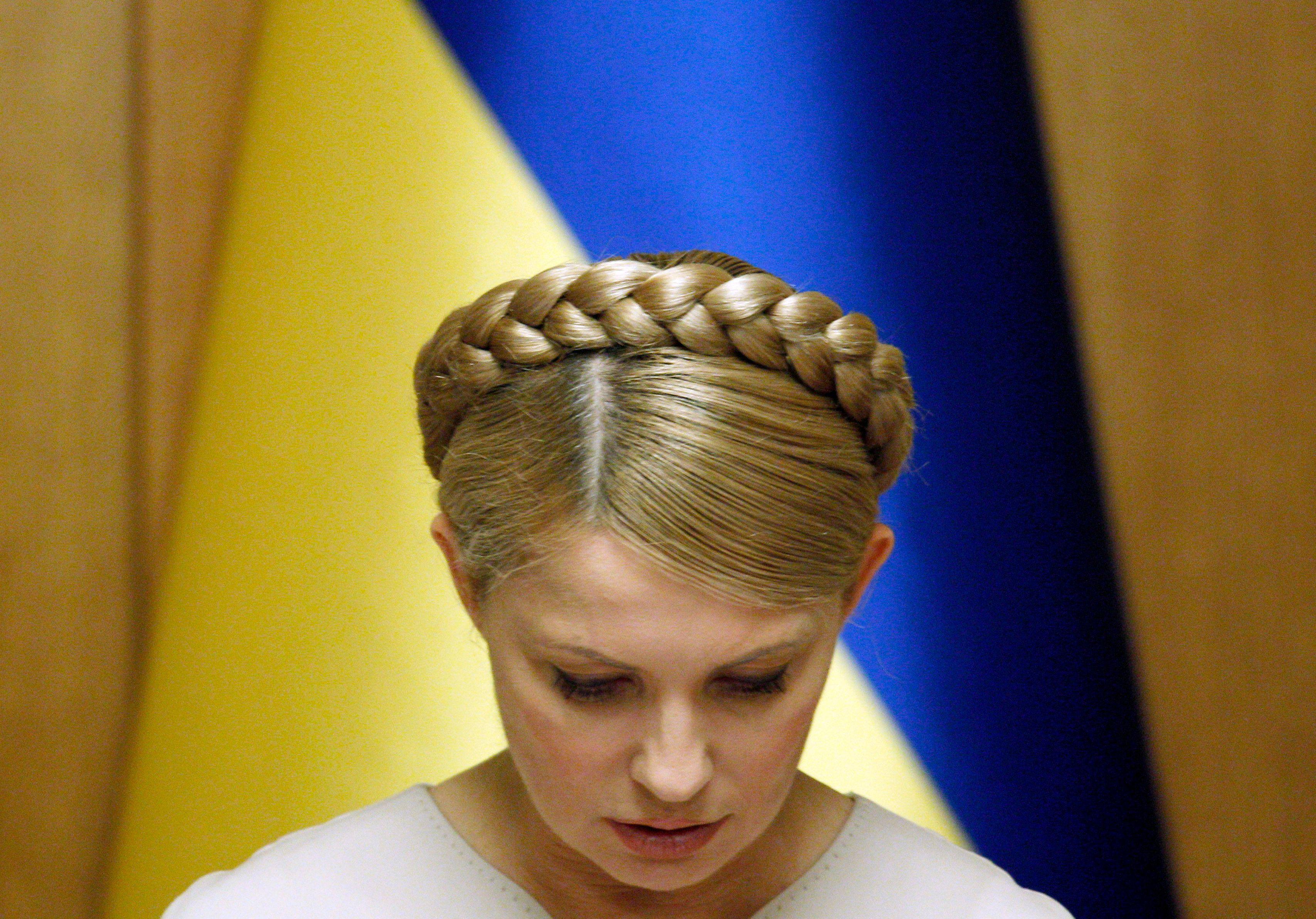 L'opposante ukrainienne Ioulia Timochenko, en prison depuis 2011, devrait bientôt être libérée.