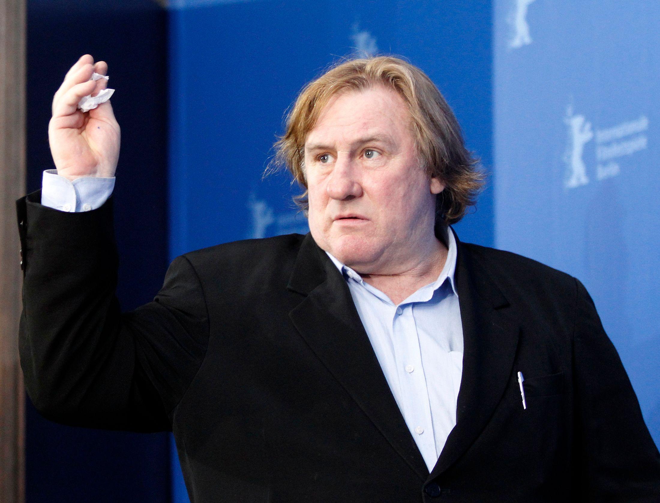 Conduite en état d'ivresse : Gérard Depardieu, son permis suspendu