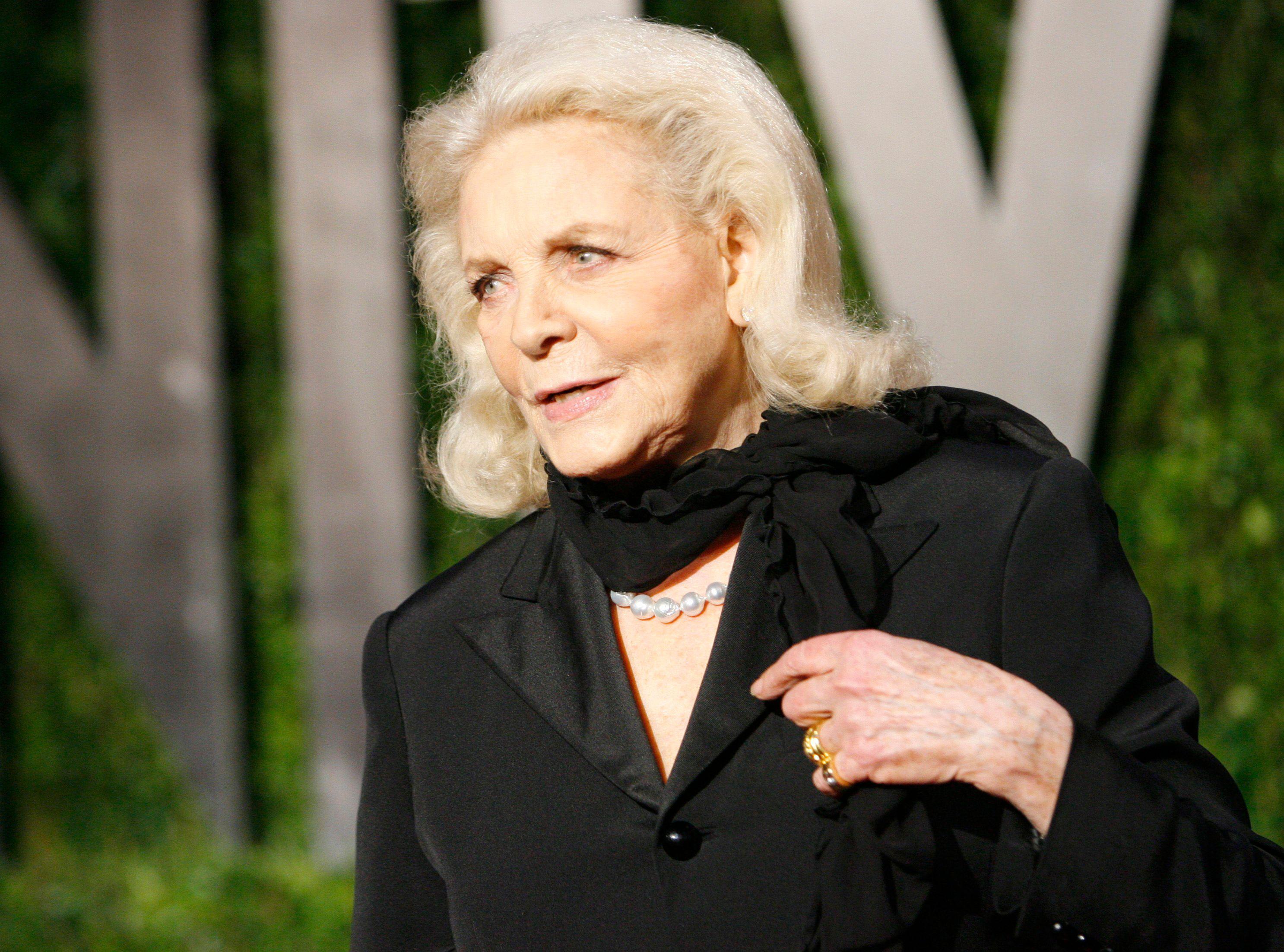 Lauren Bacall est décédée à l'âge de 89 ans