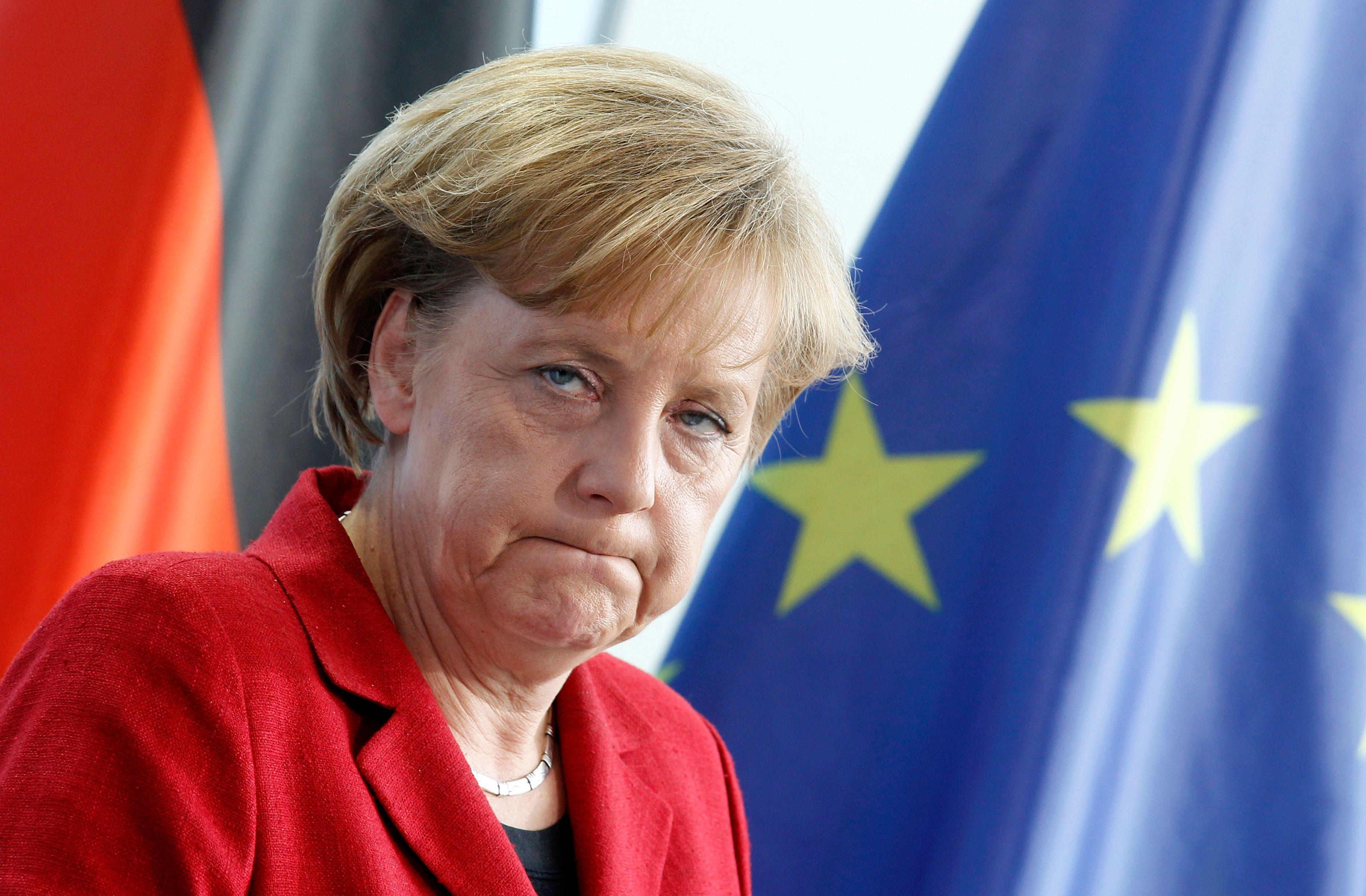 Angela Merkel, enragée par les gaffes à répétition de François Hollande sur la Grèce