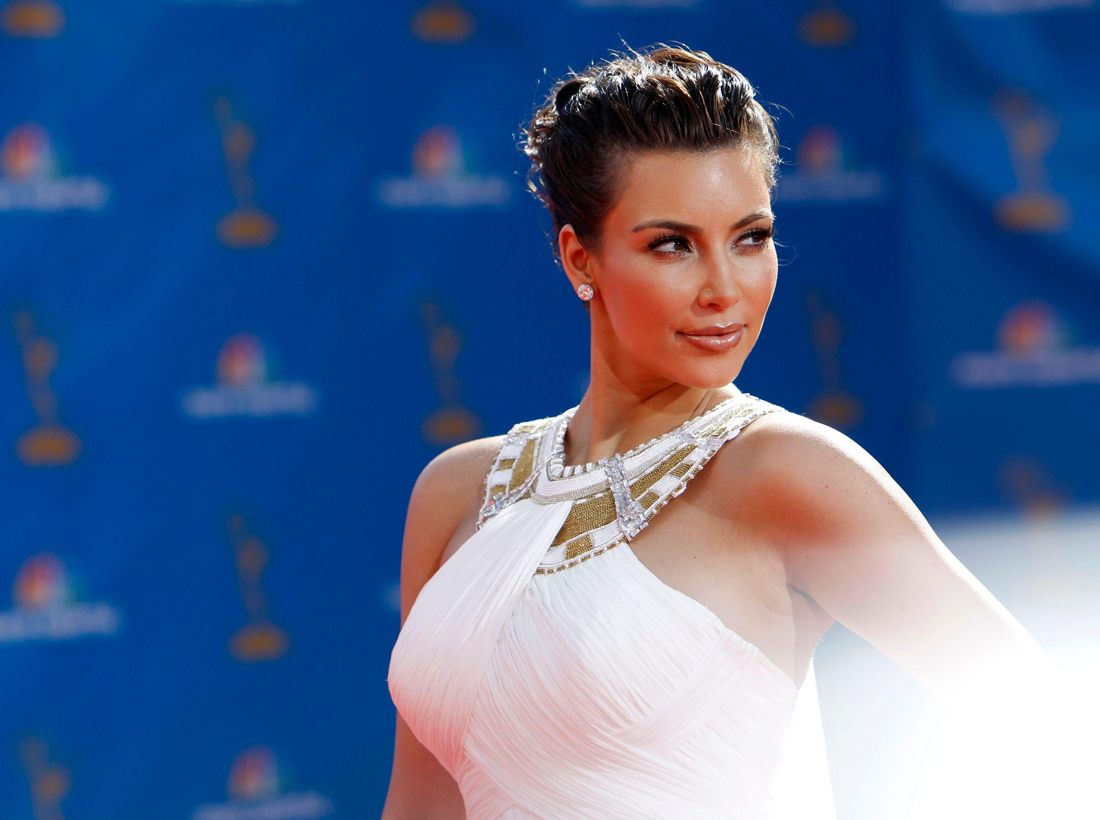 Sur cette photo, Kim Kardashian est au maximum.
