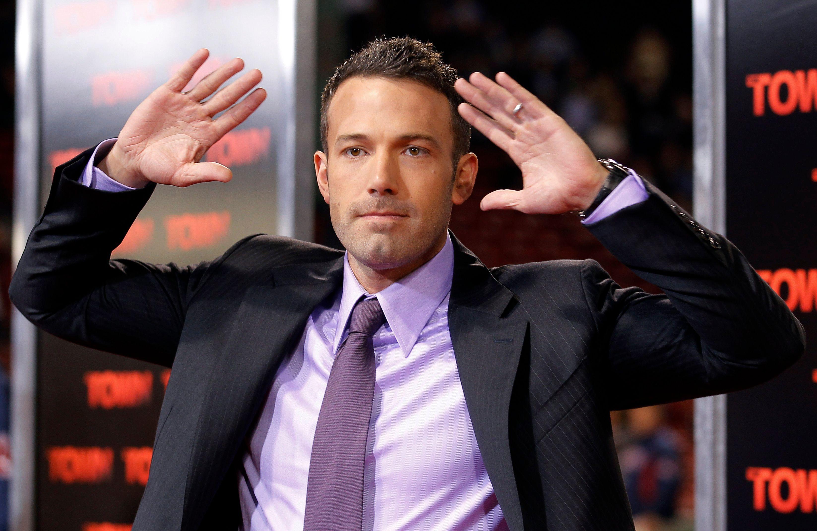 "Ben Affleck sera, lui, à l'affiche de la version ""classique"" de Batman vs Superman en 2016."