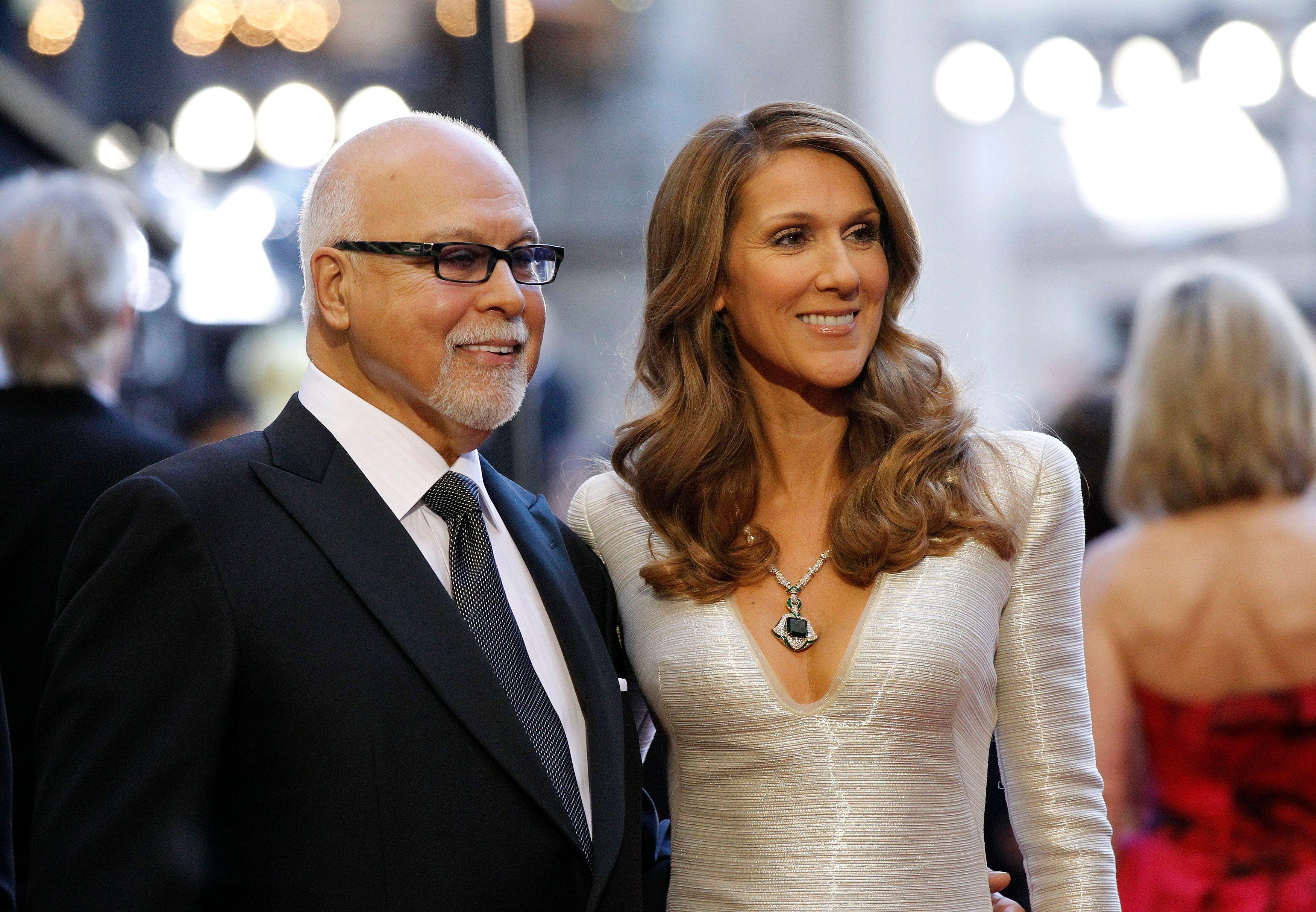 """René Angélil, le mari de Céline Dion, va """"de mieux en mieux"""""""