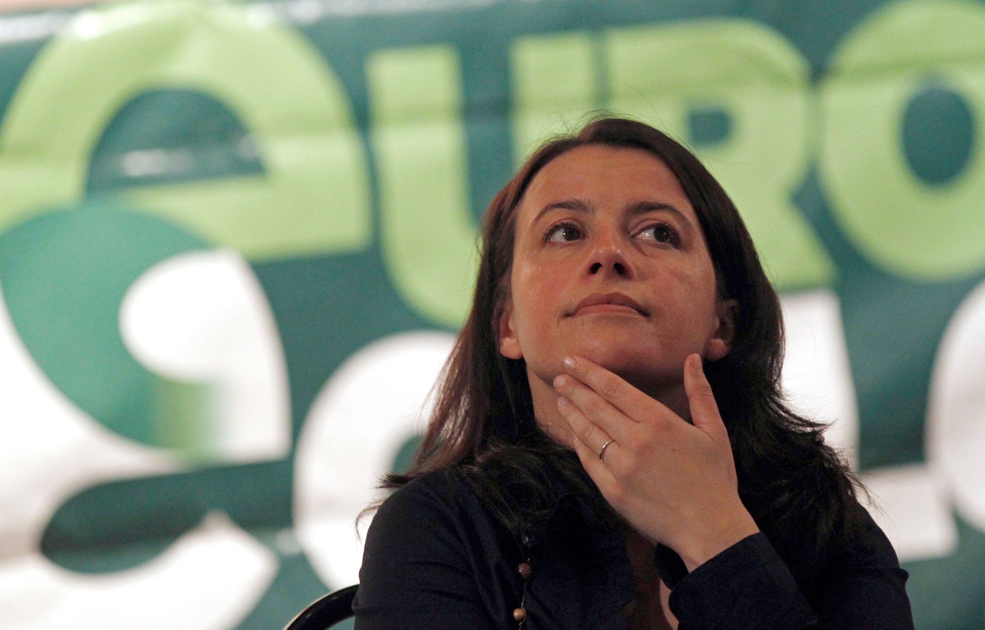 Le parti de Cécile Duflot, Europe Écologie Les Verts, connaît des difficultés.