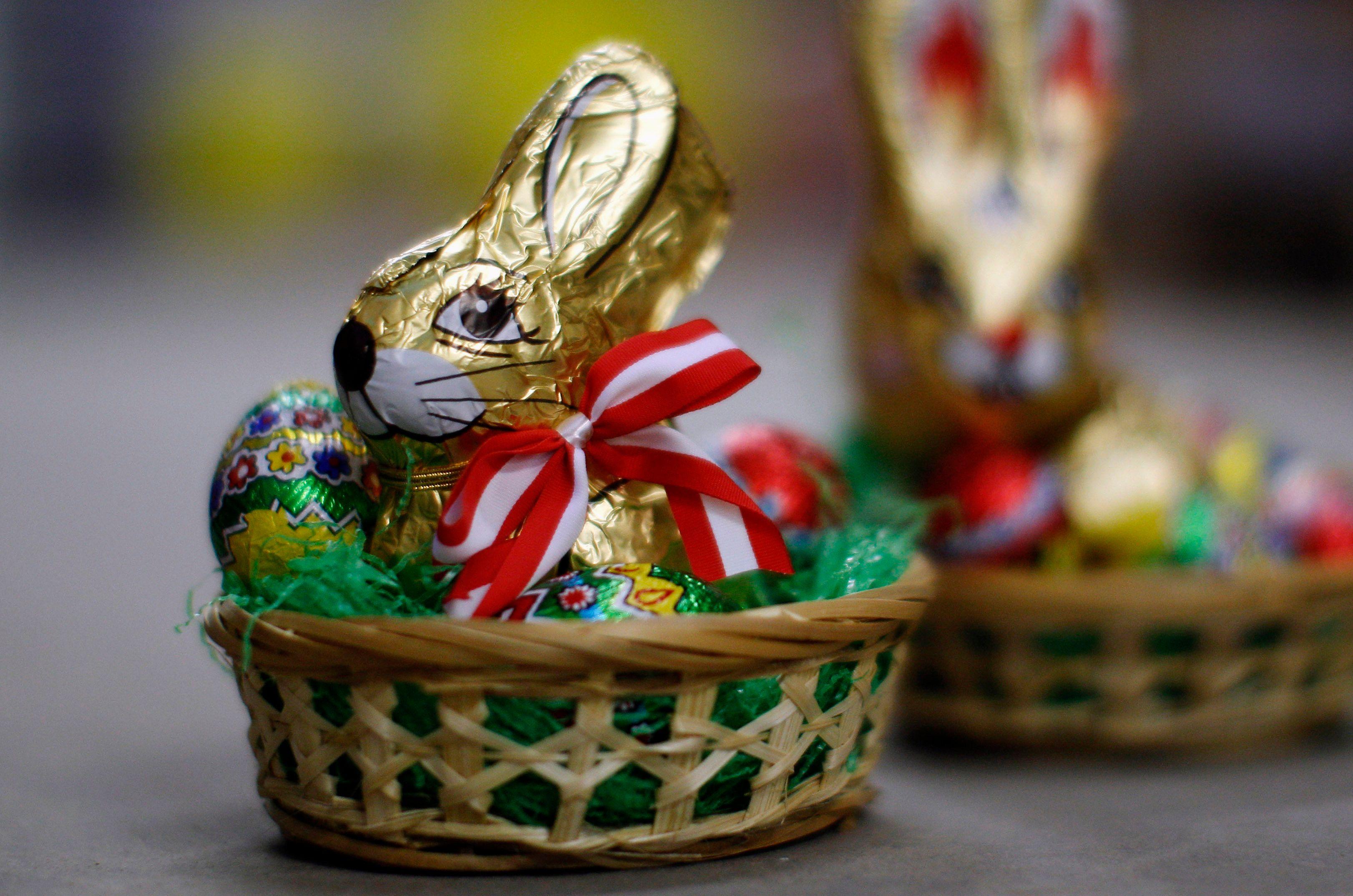 Durant les fêtes de Pâques, la consommation de chocolat connait un pic.