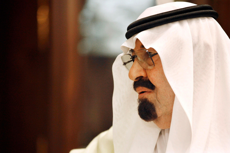 Abdallah, feu roi d'Arabie Saoudite