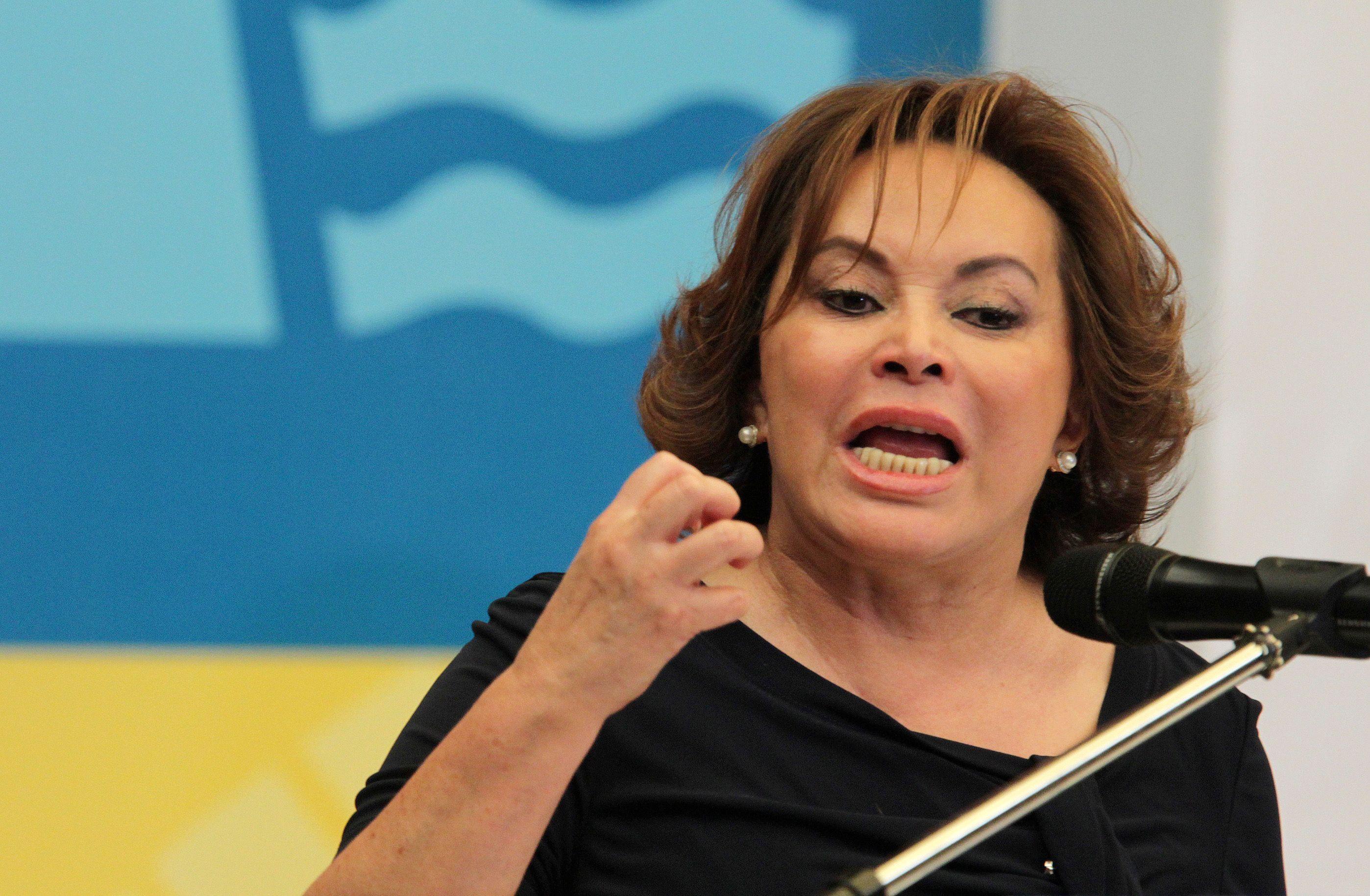 Pendant 24 ans, Elba Esther Gordillo a dirigé le Syndicat national des travailleurs de l'Education (SNTE).
