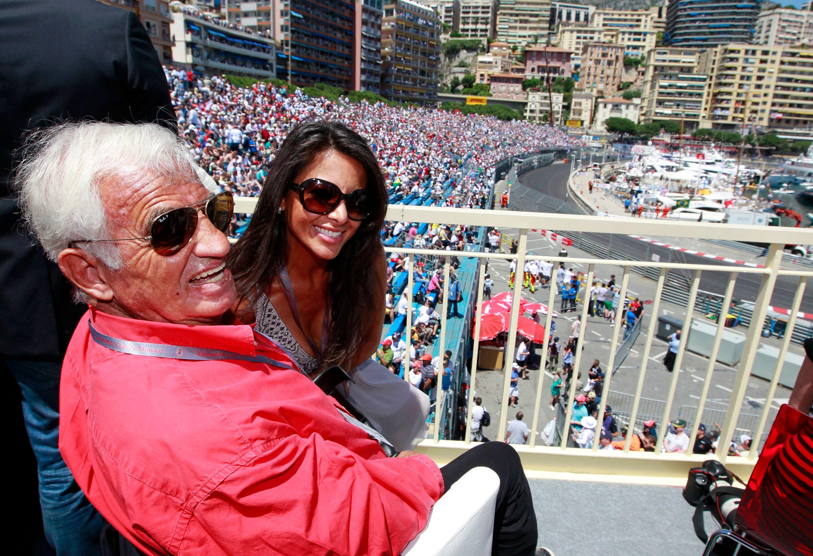 Jean-Paul Belmondo et Barbara Gandolfi