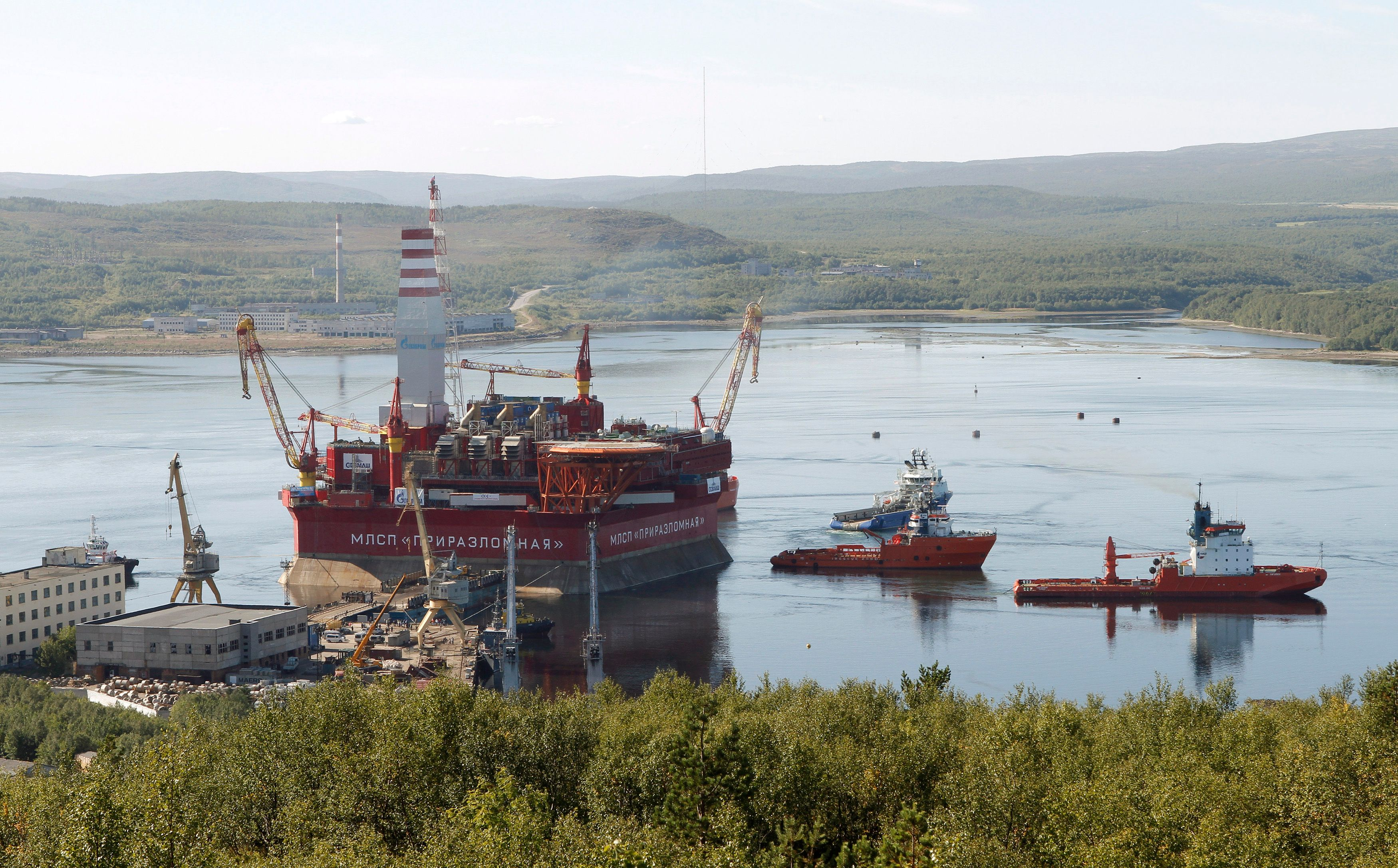 L'Arctique est riche d'hydrocarbures.