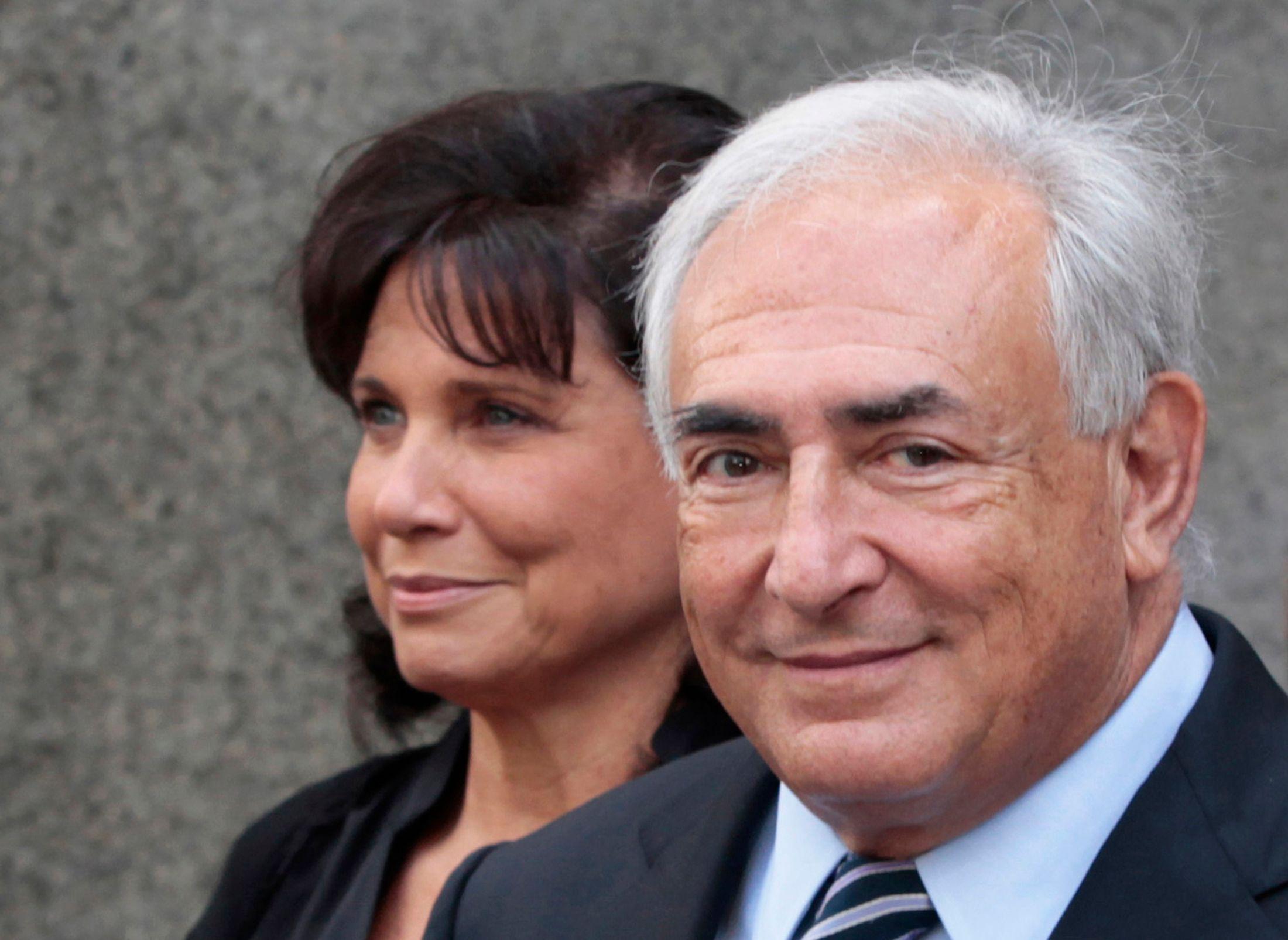 """Quand Anne Sinclair évoque les infidélités de DSK : """"Je ne savais rien, je faisais confiance"""""""