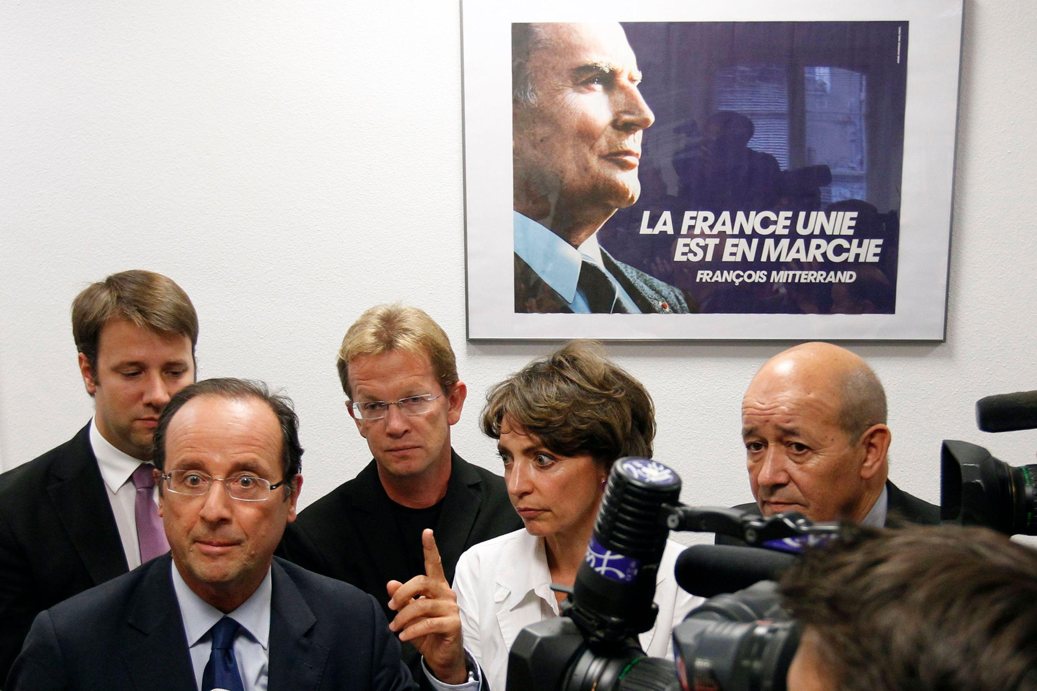 François Mitterrand et François Hollande ont pour point commun d'avoir débuté leur présidence en commettant bon nombre de bourdes économiques et d'erreurs de diagnostic