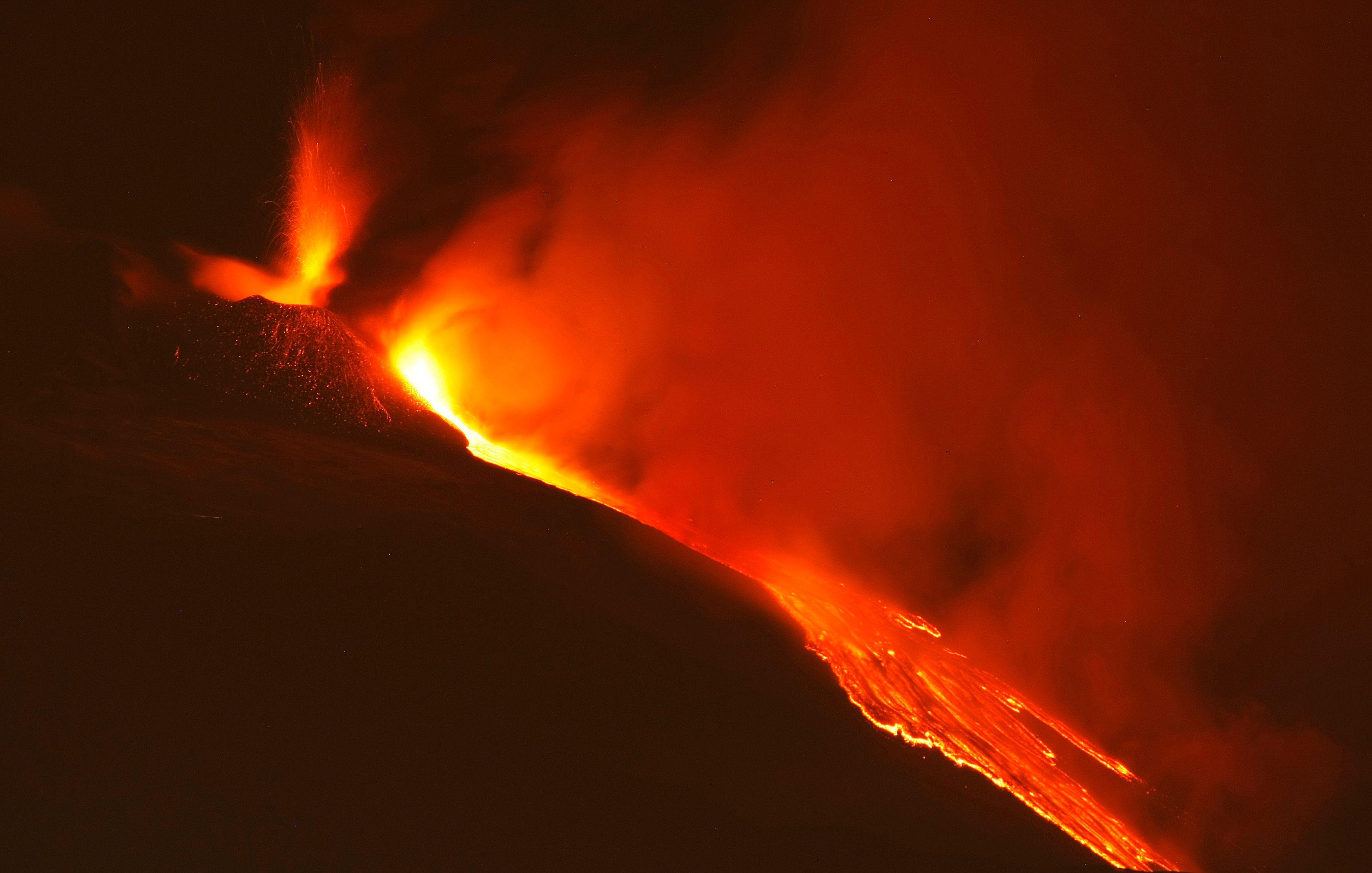 L'explosion d'un supervolcan pourrait faire chuter la température mondiale de 10°C pendant une décennie.