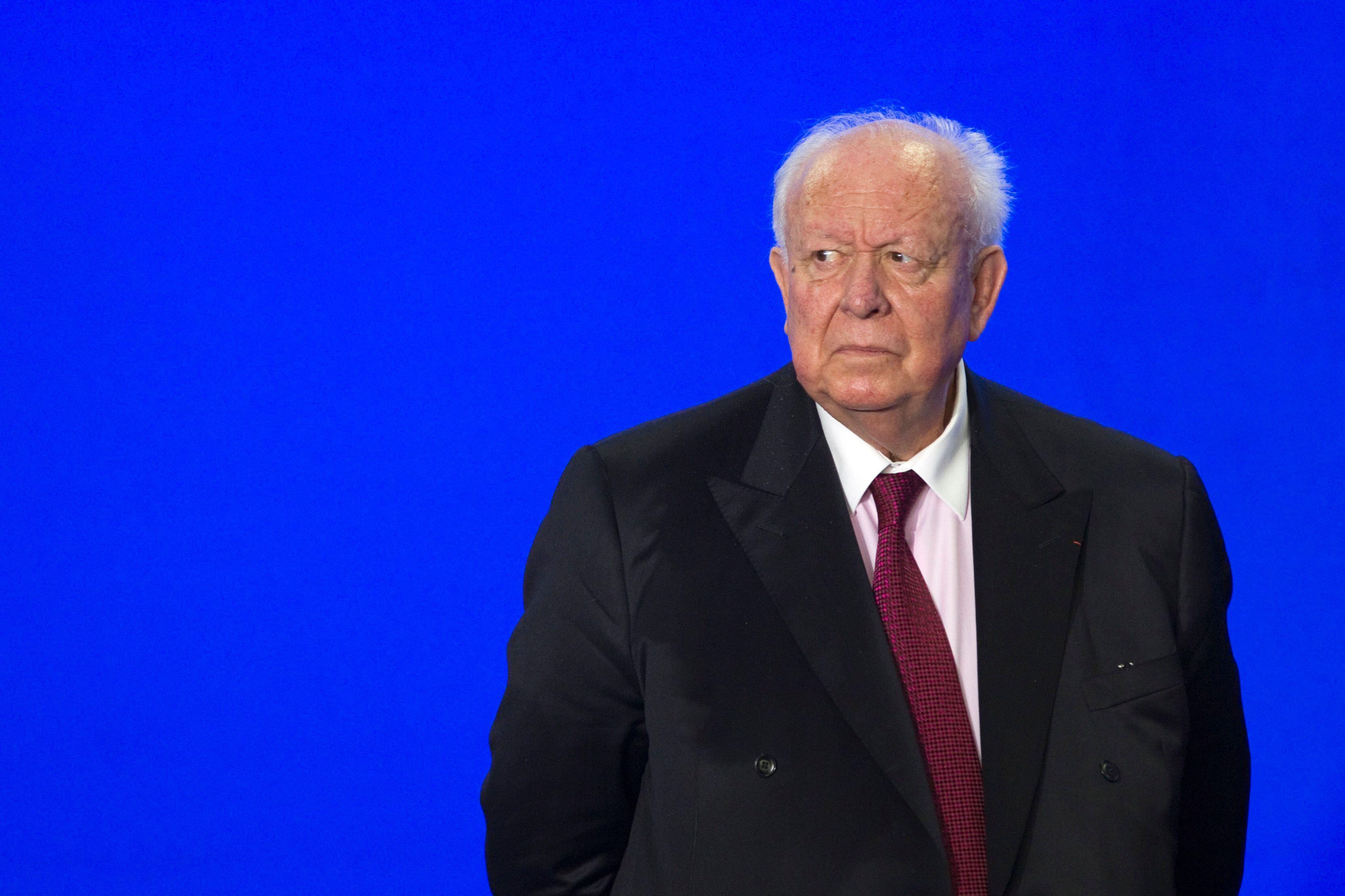 """Non-cumul : """"à regret"""", Jean-Claude Gaudin va quitter le Sénat pour se consacrer à Marseille"""