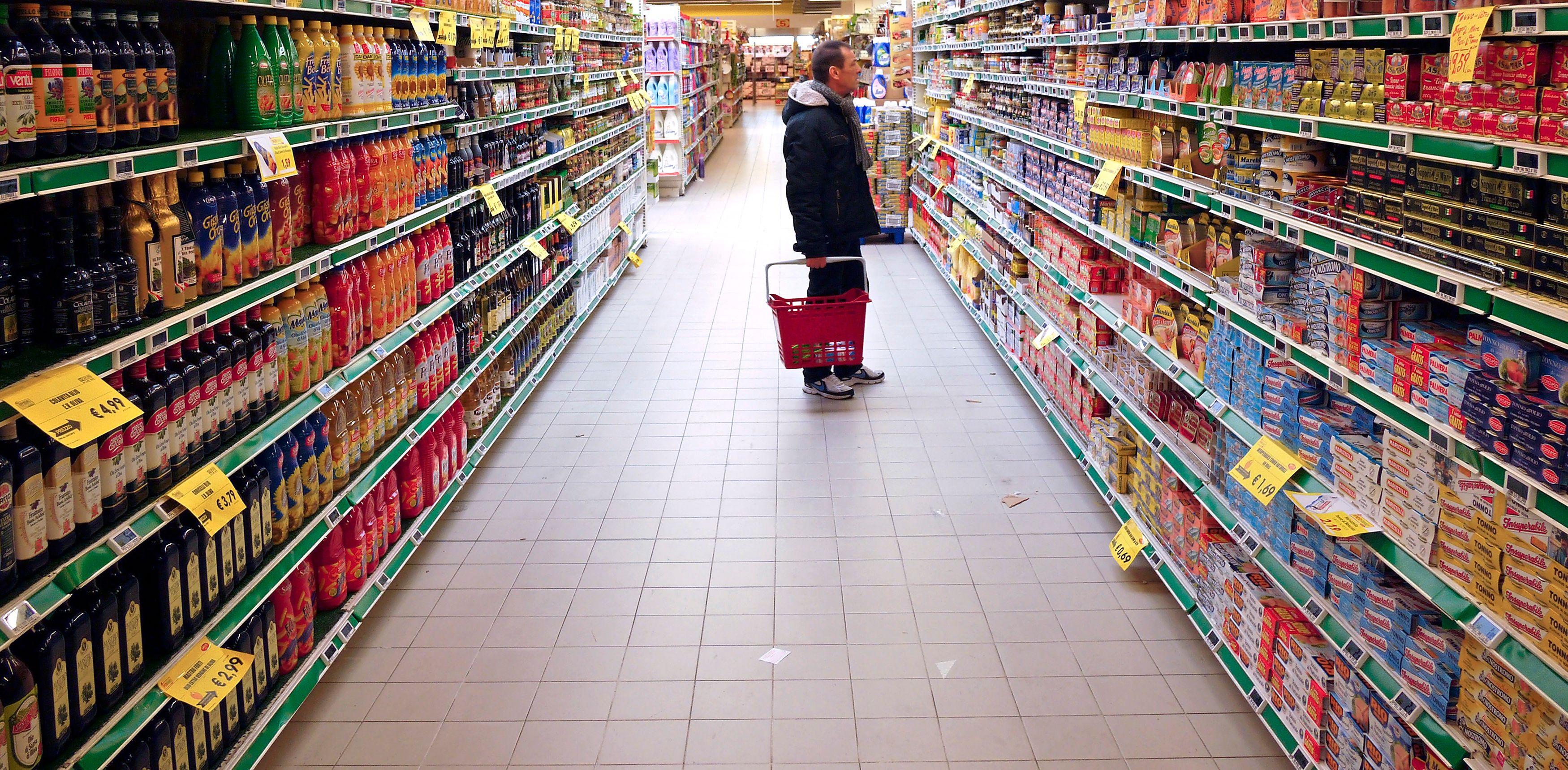 Selon les chiffres de l'association de consommateurs Famille Rurale, le prix du panier moyen a augmenté de 3,4% en 2012.