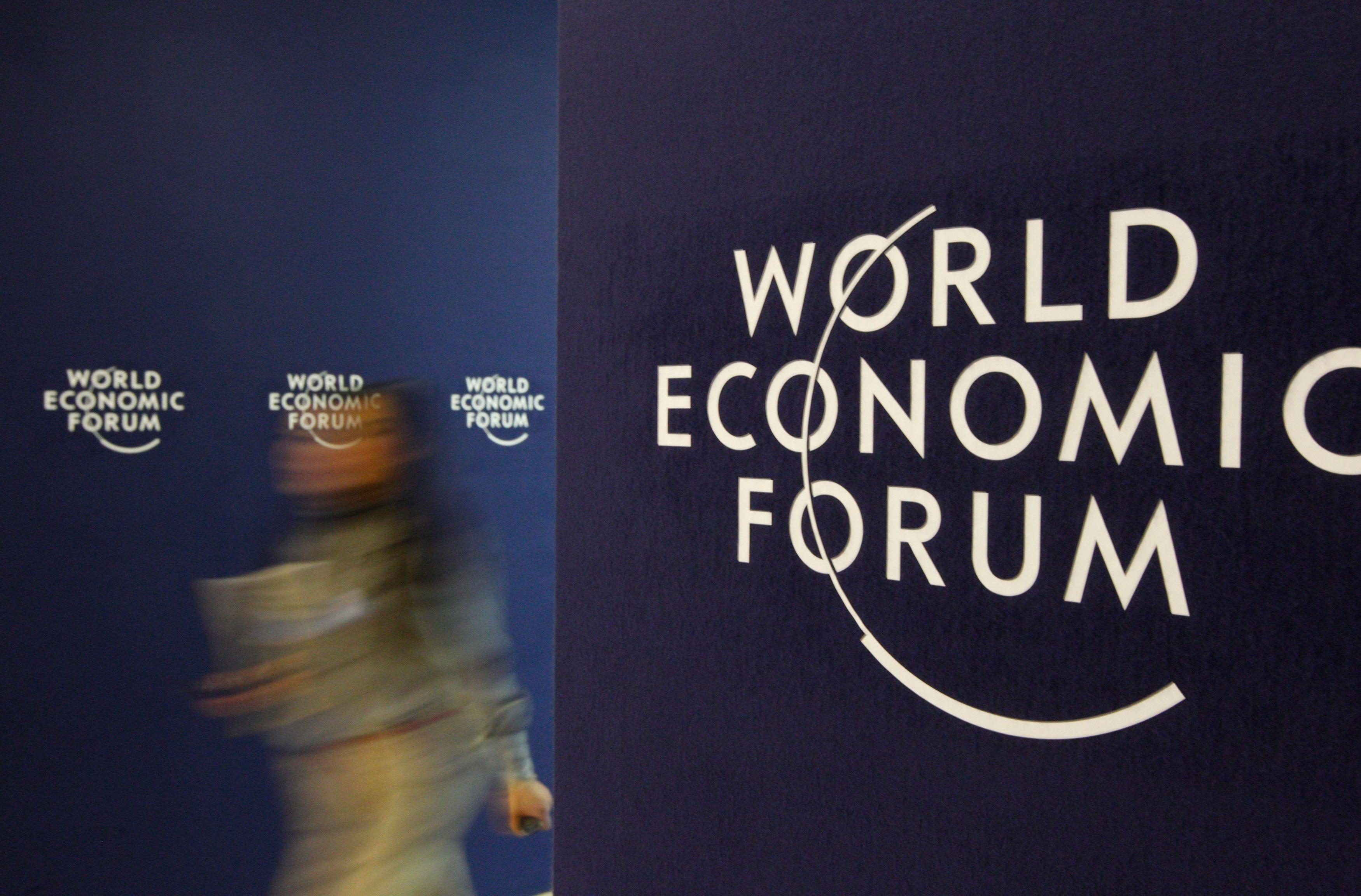 Davos se prépare à l'ouverture du Forum mondial économique ce mercredi 23 janvier 2013.