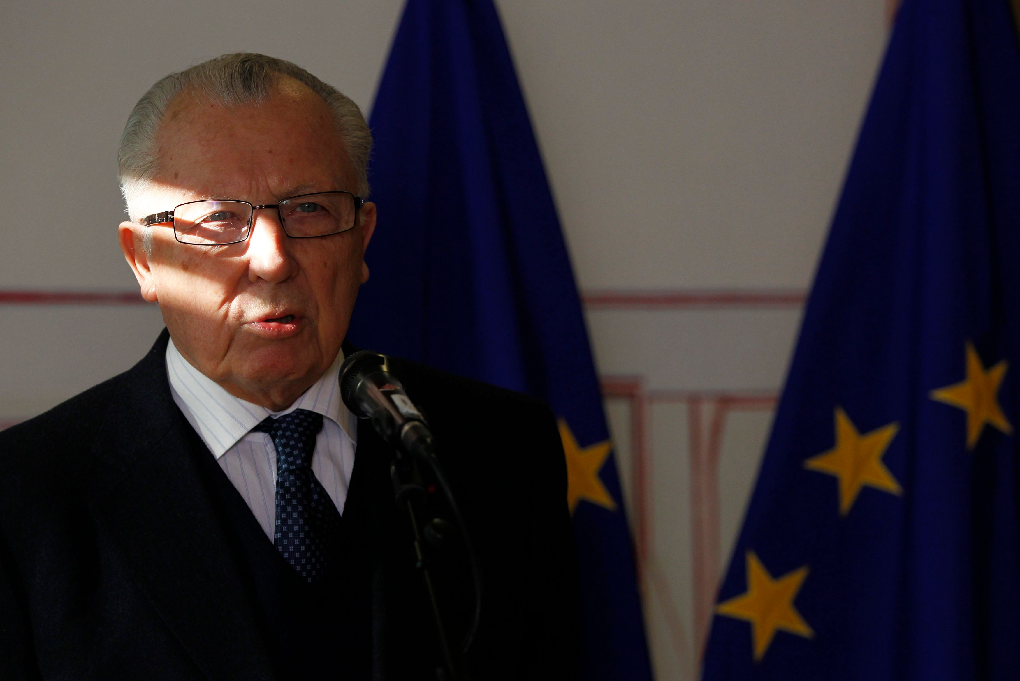 Jacques Delors a estimé possible une sortie du Royaume-Uni de l'UE