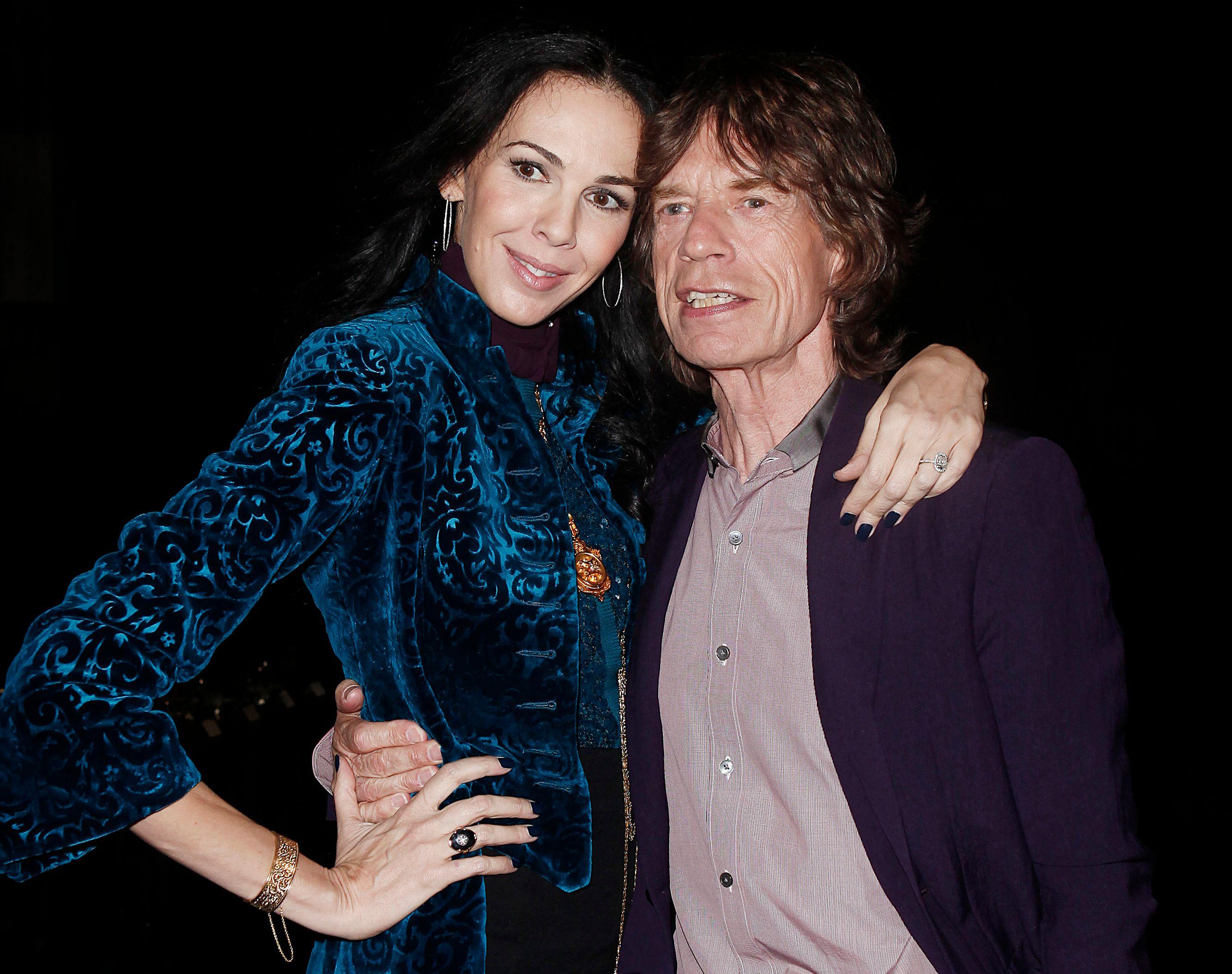 L'Wren Scott et Mick Jagger