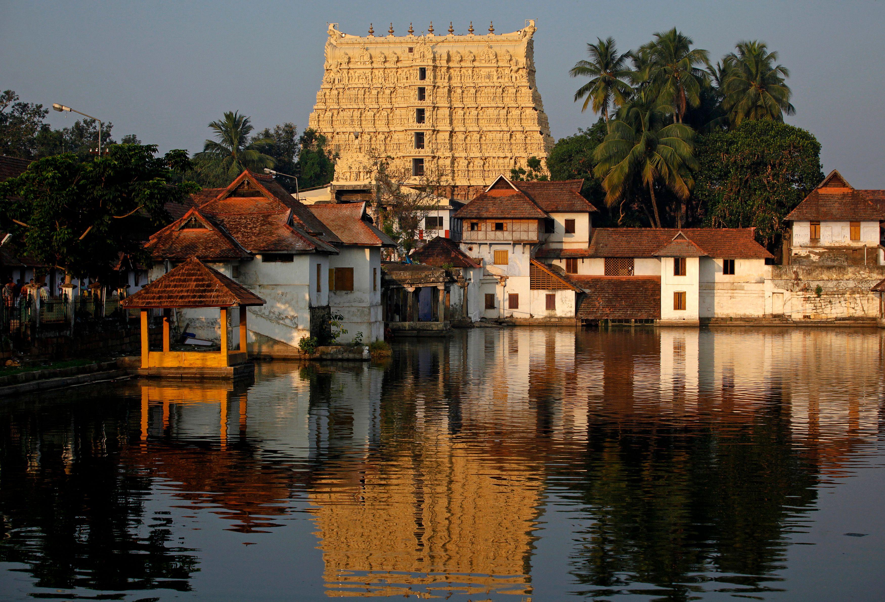 Le temple Sree Padmanabhaswamy