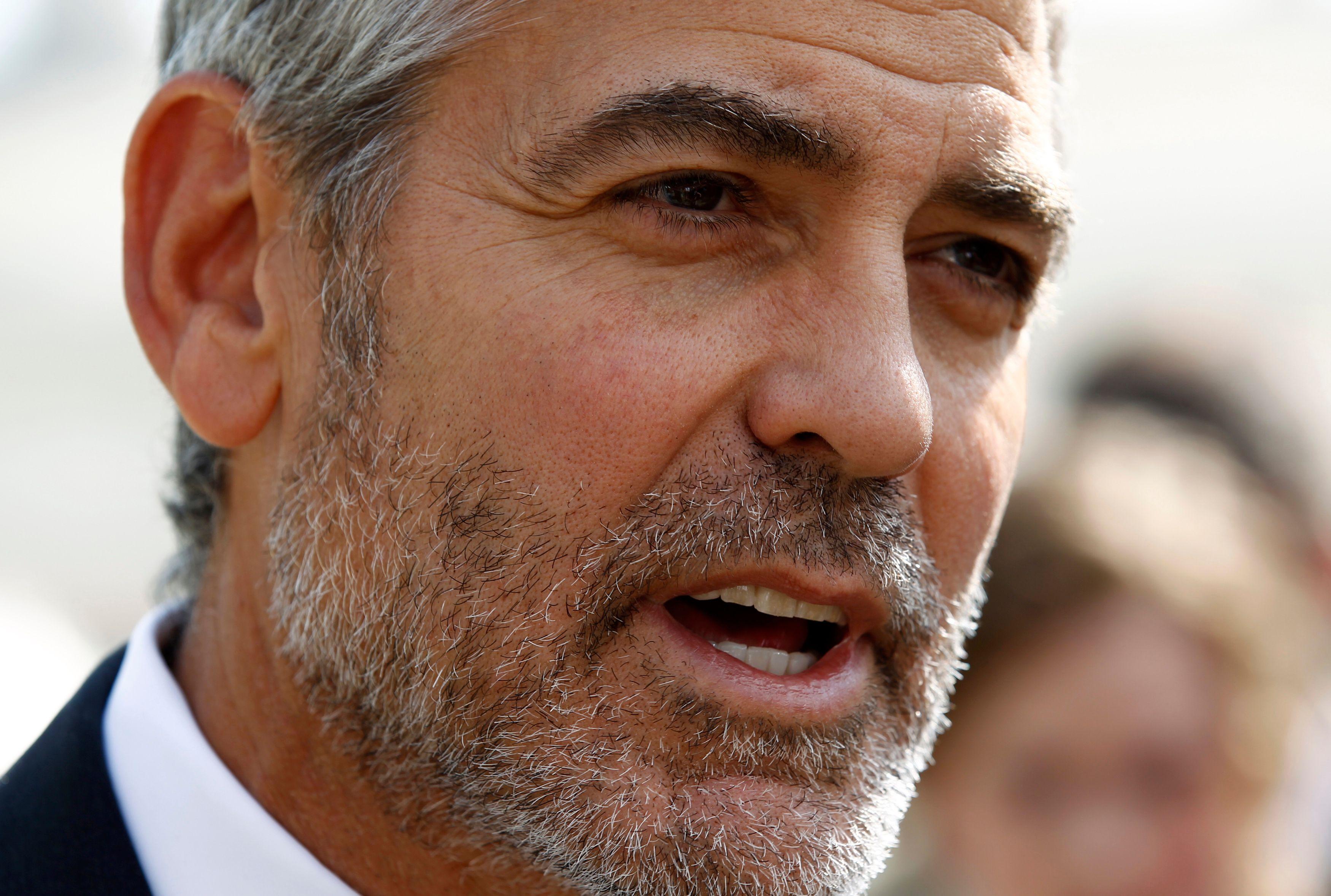 "George Clooney, très ""sympa"" avec Jean Dujardin"