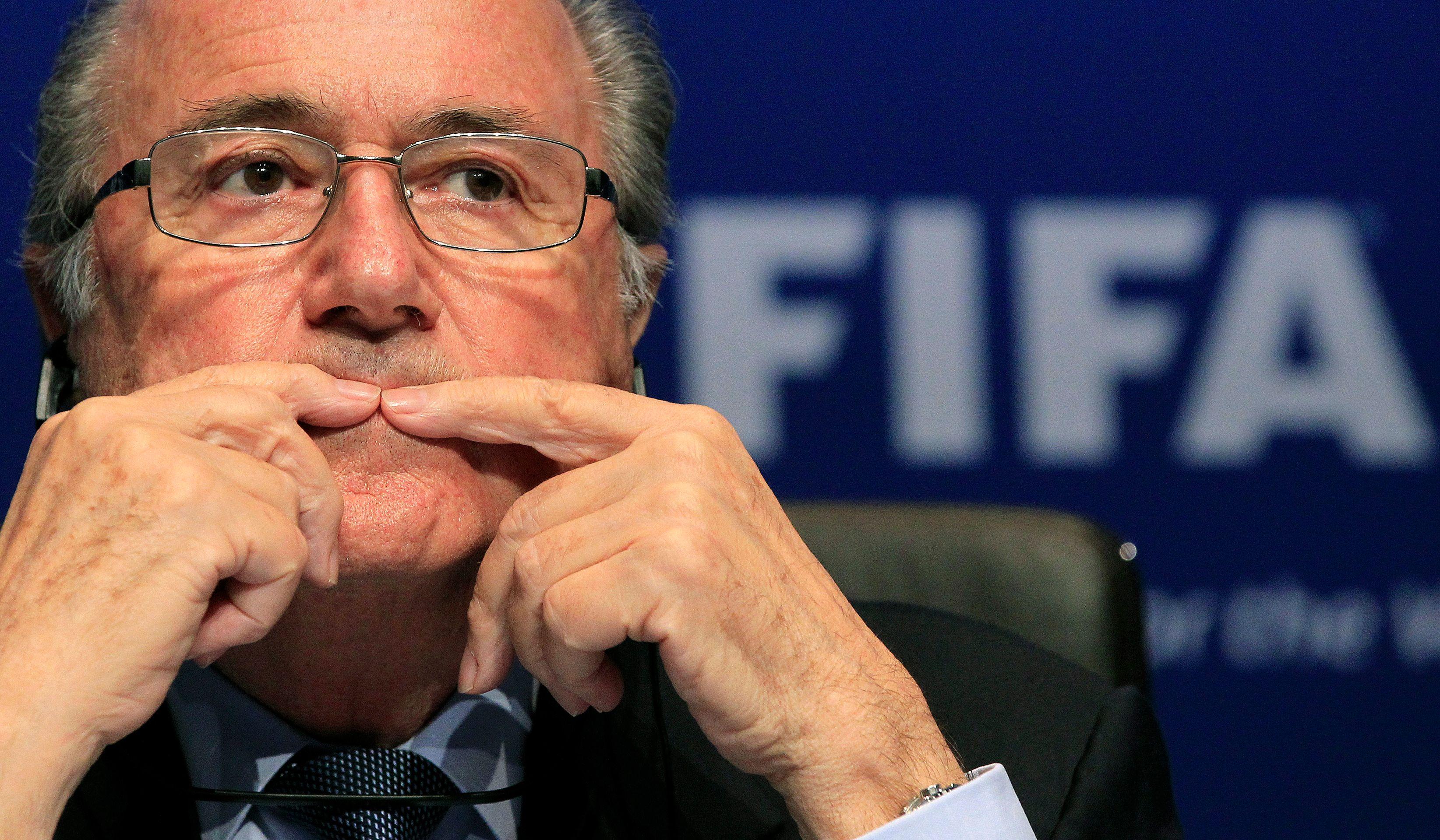 Sepp Blatter pourrait ne pas être réélu à la tête de la FIFA