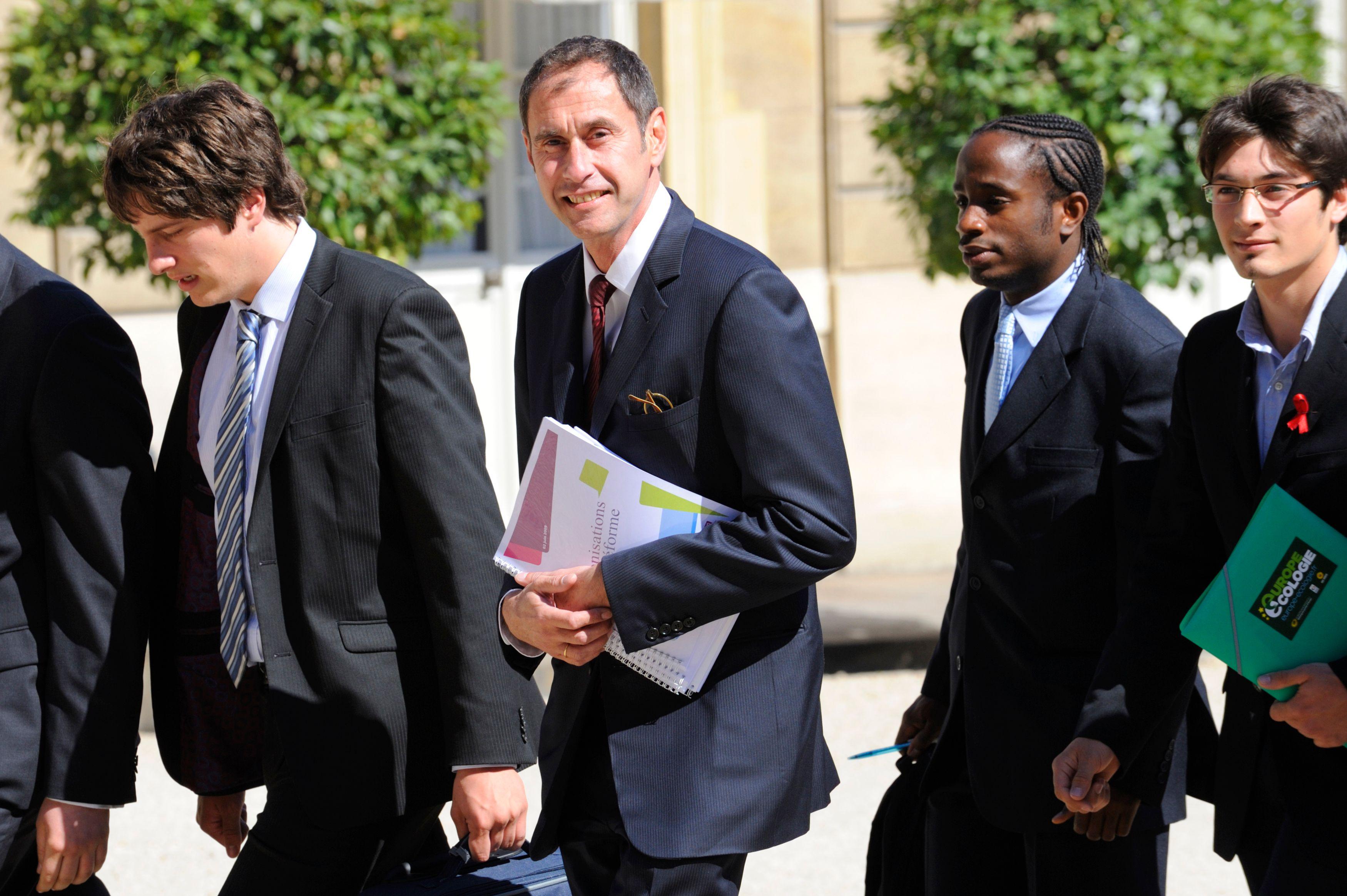Frédéric Mion a été choisi pour remplacer Richard Descoings (sur cette photo)